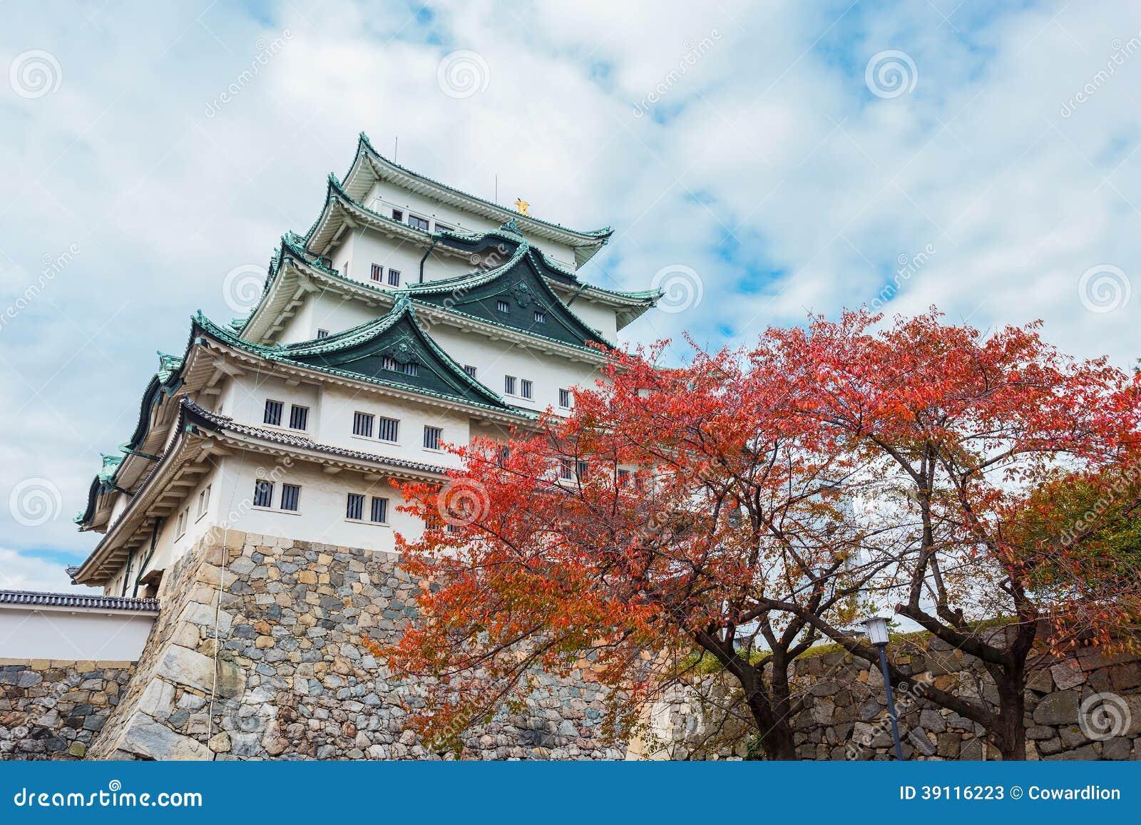 Het Kasteel van Nagoya in Japan