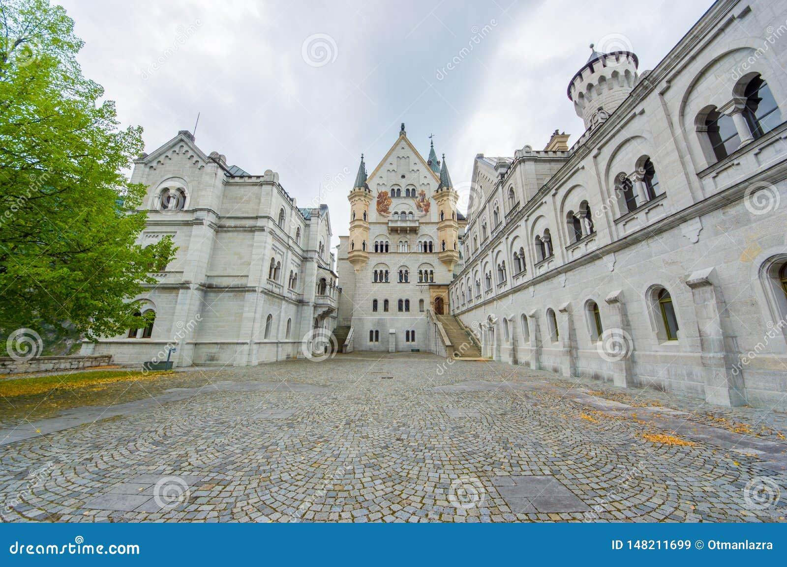Het kasteel van Neuschwanstein