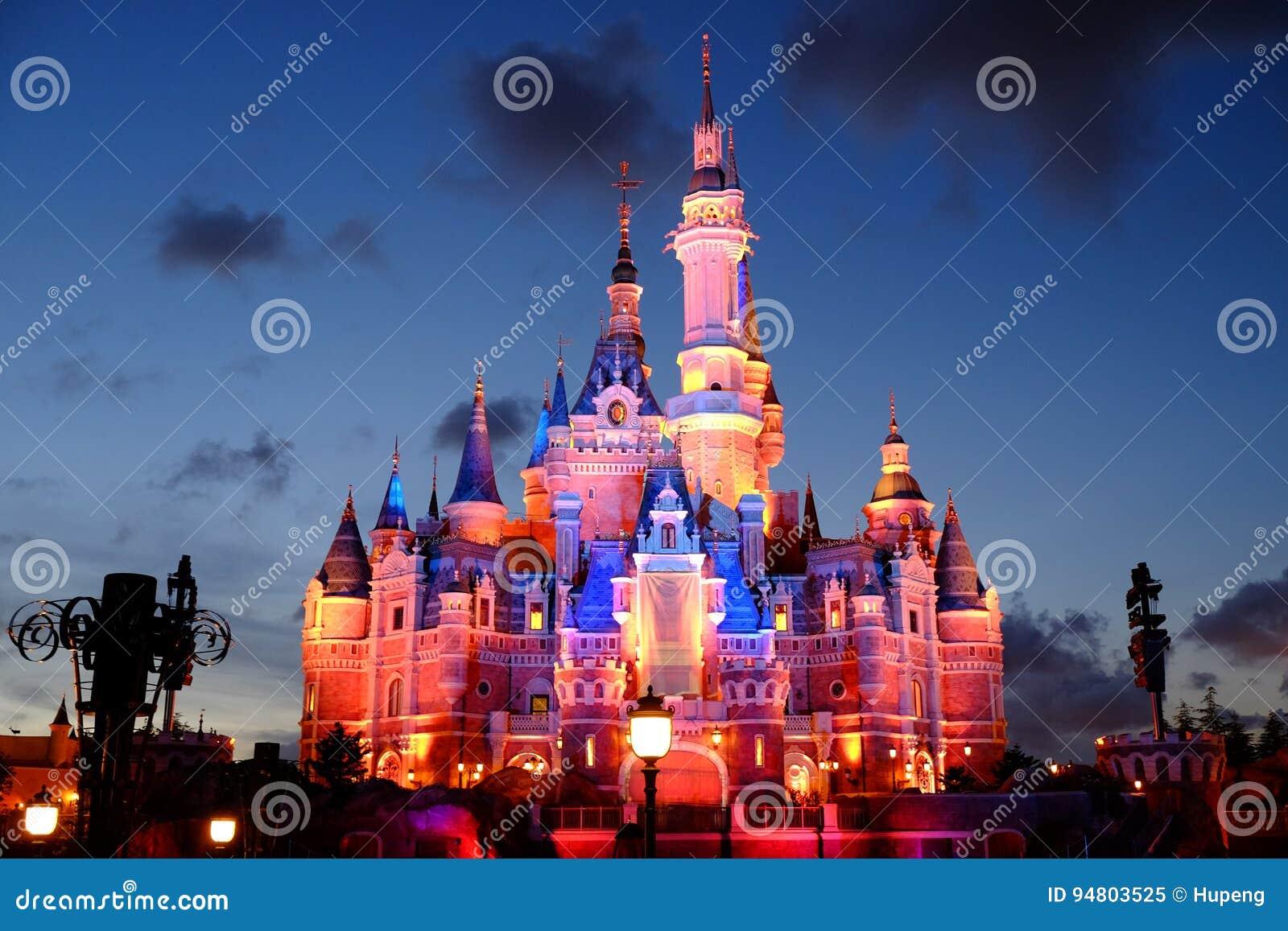 Het Kasteel van Shanghai Disney