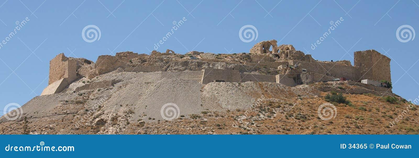 Het Kasteel van Shawbak, Jordanië