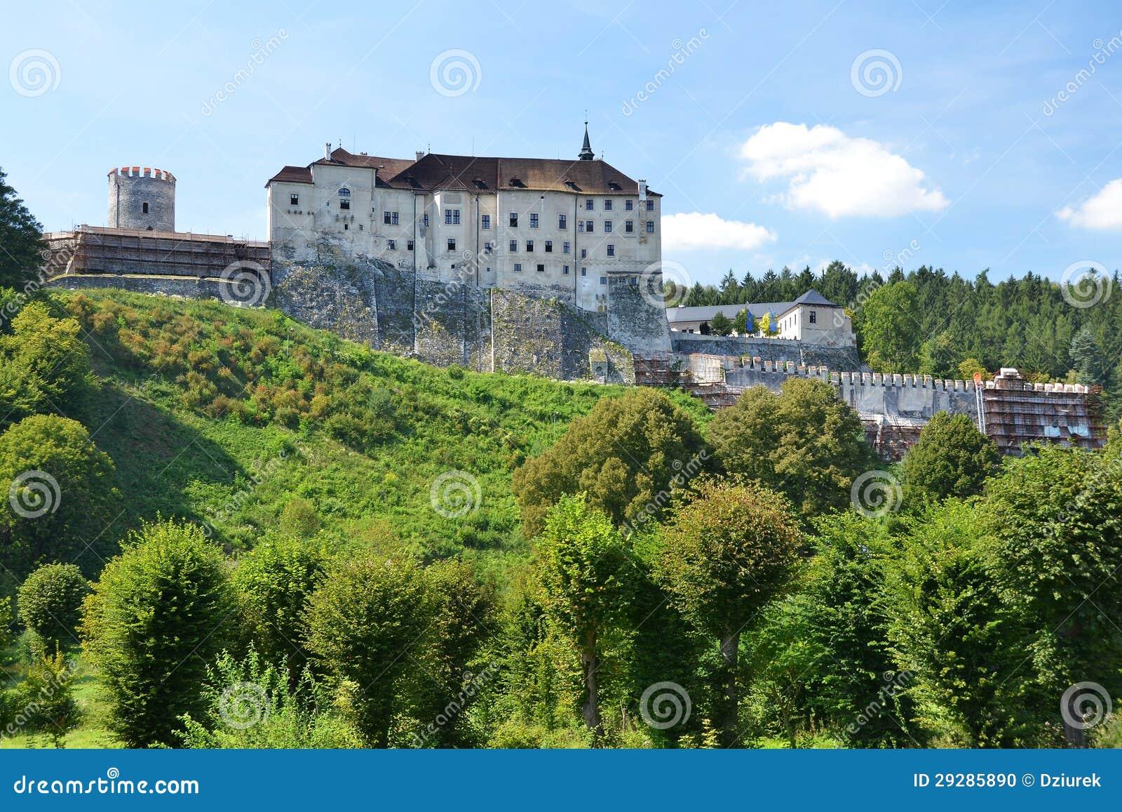 Het kasteel van Sternberk van Cesky
