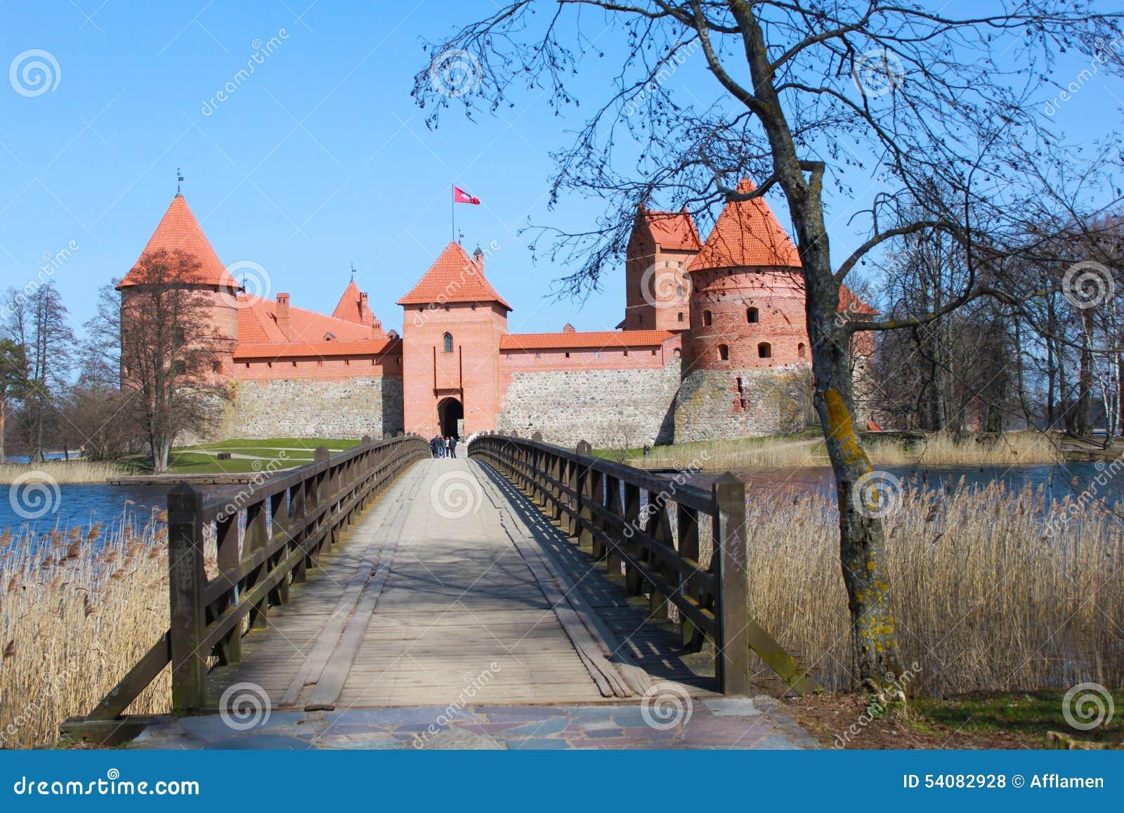 Het kasteel van Trakai, Litouwen