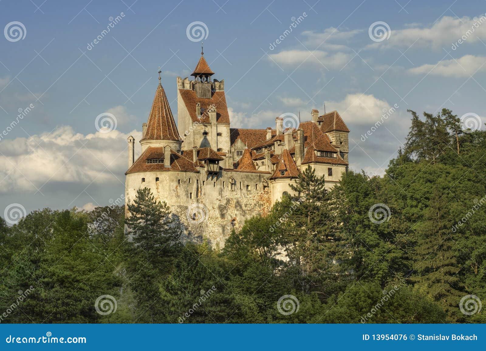 Het Kasteel Van Zemelen, De Woonplaats Van Dracula Royalty vrije Stock Afbeelding   Beeld  13954076