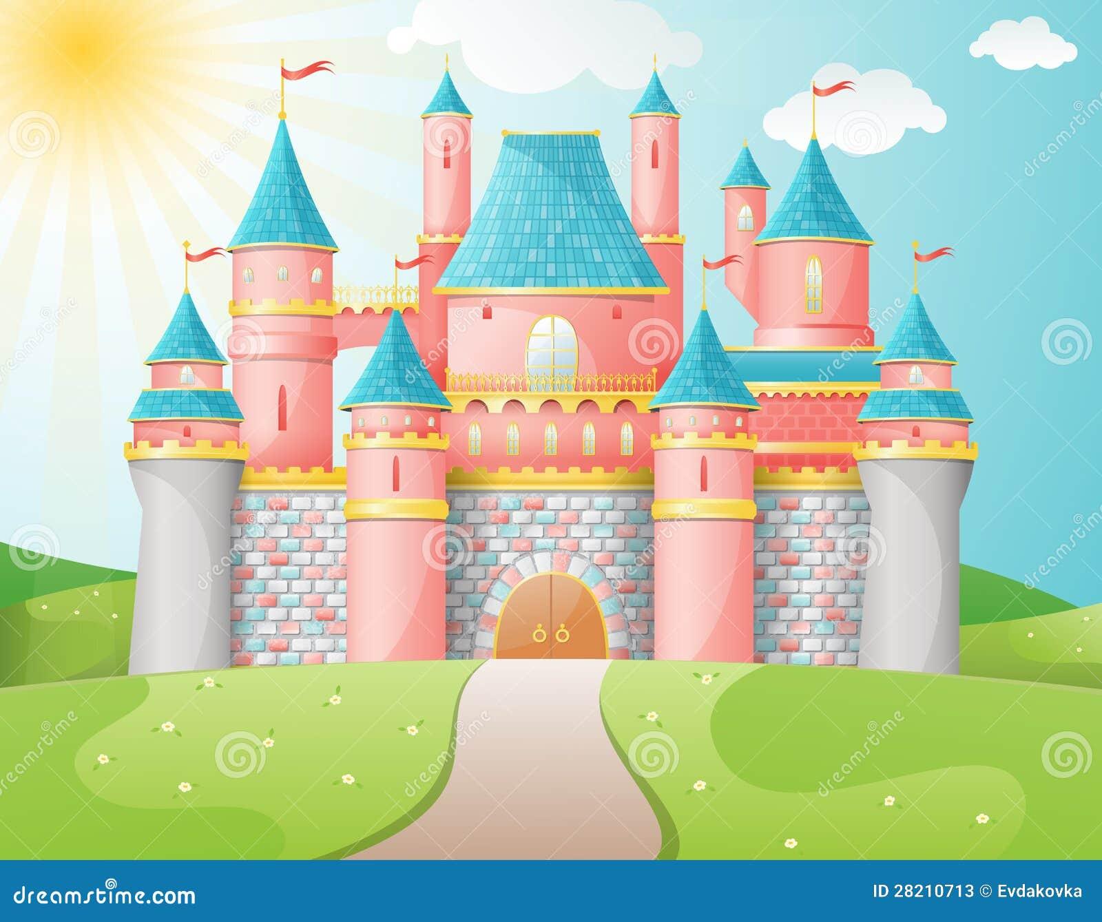 Het kasteelillustratie van FairyTale.