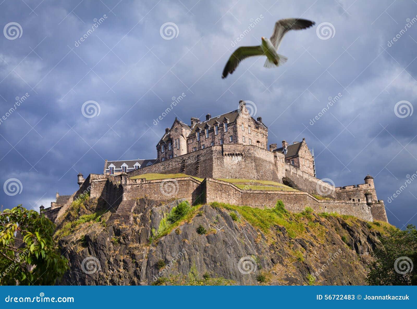 Het Kasteelonweer van Edinburgh