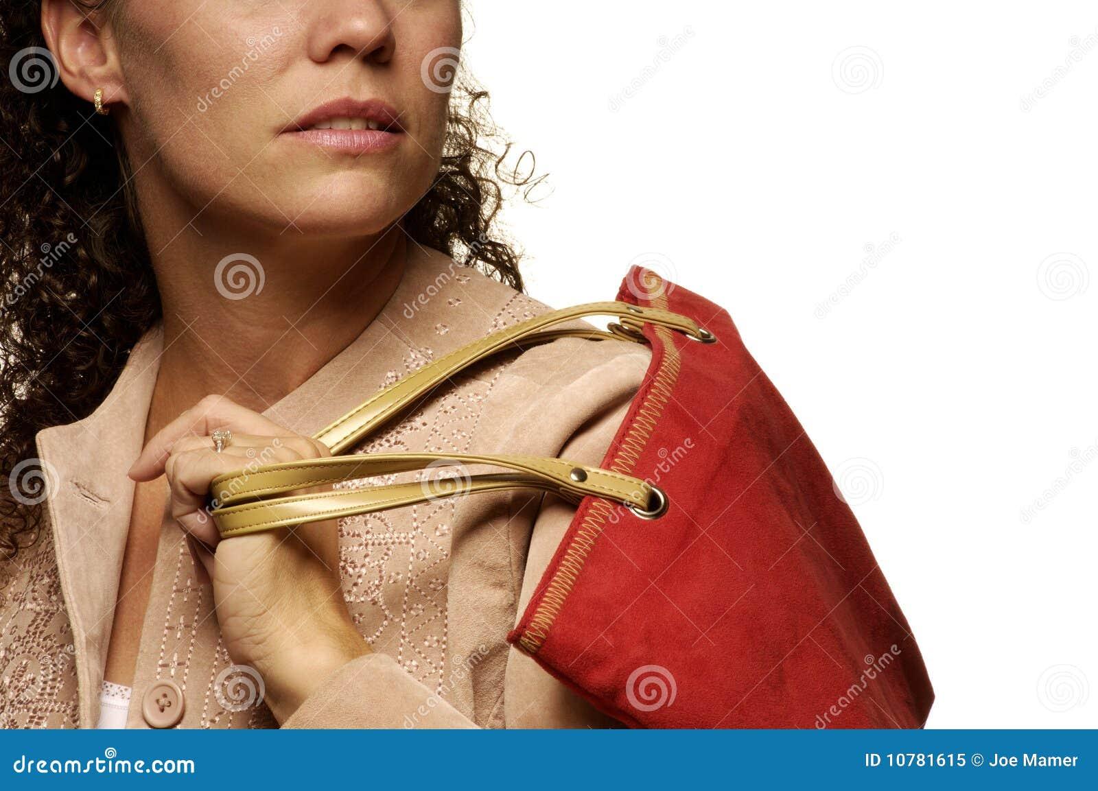 Het Kaukasische vrouwelijke winkelen