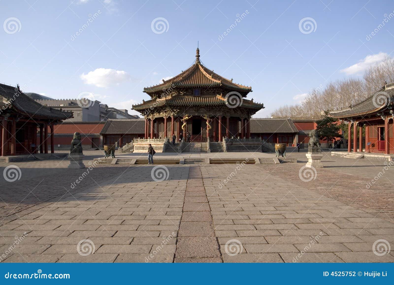 Het KeizerPaleis van Shenyang