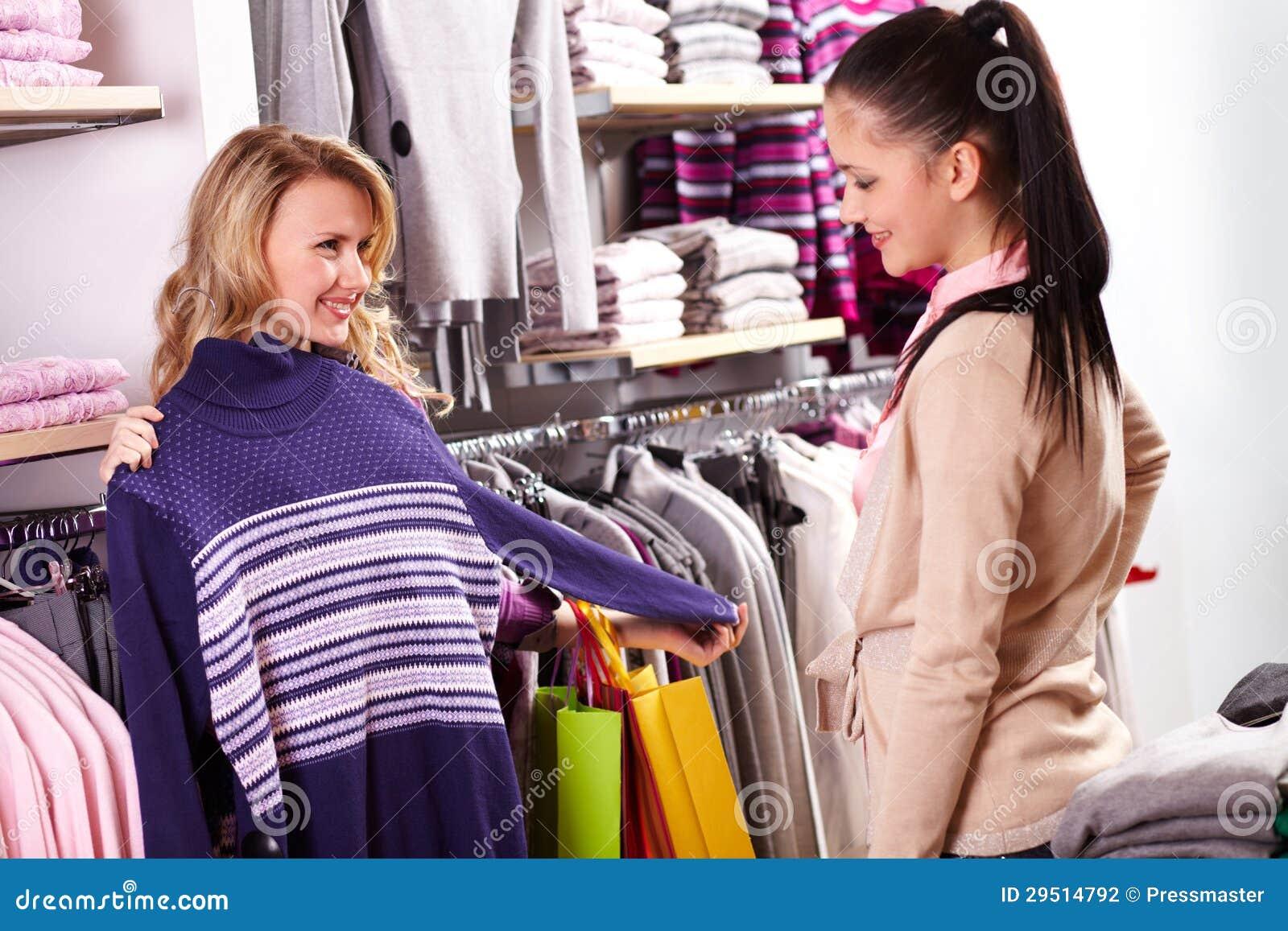 Het kiezen van kleren
