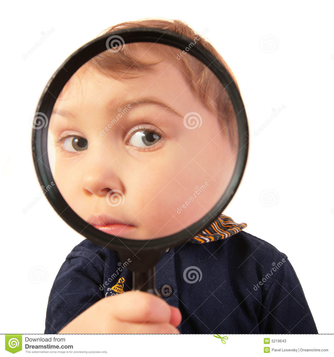 Child Looking Glass