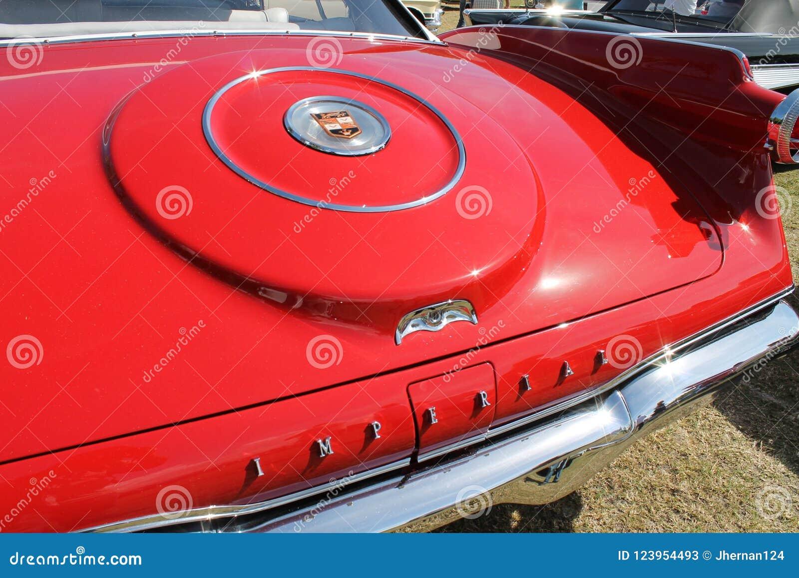 Het klassieke detail van de luxe americana auto