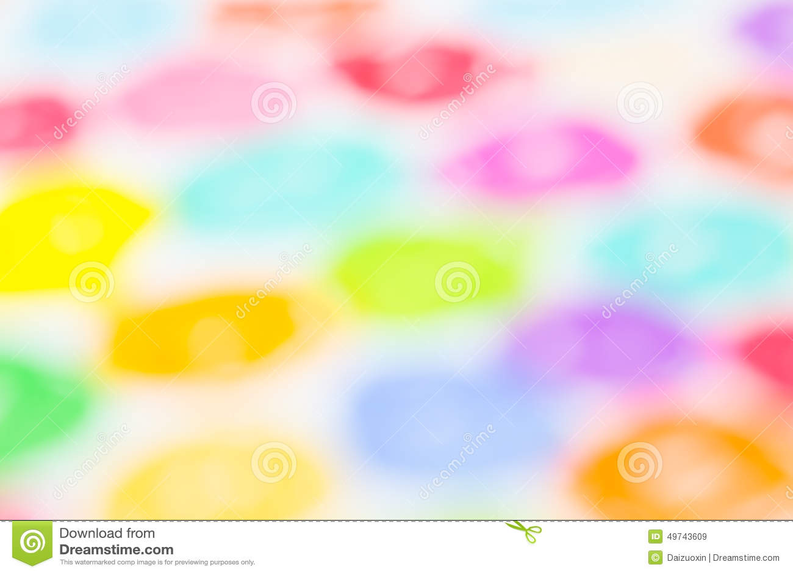 Het kleurpotlood defocused achtergrond