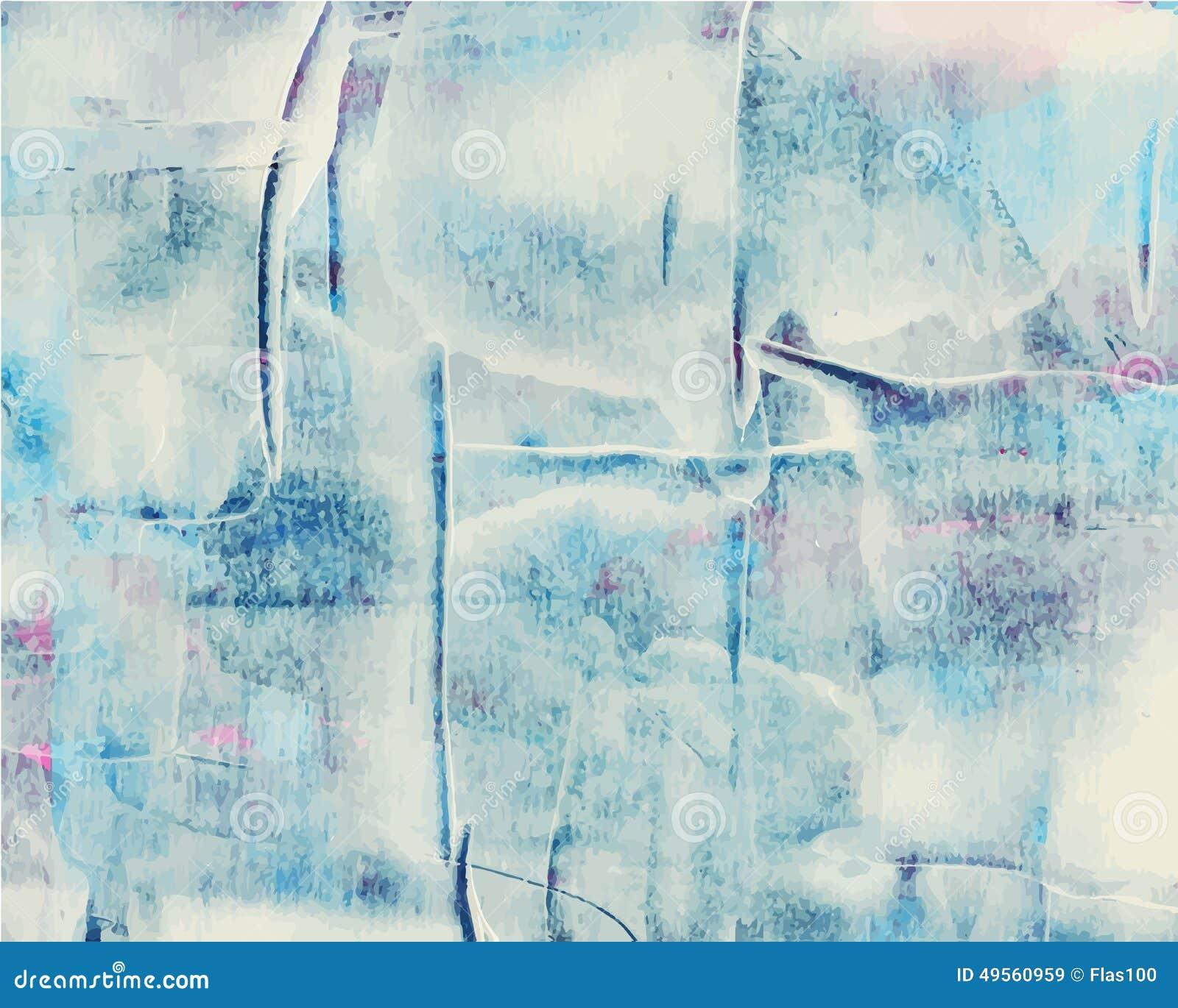 Het kleurrijke abstracte waterverf acryl schilderen