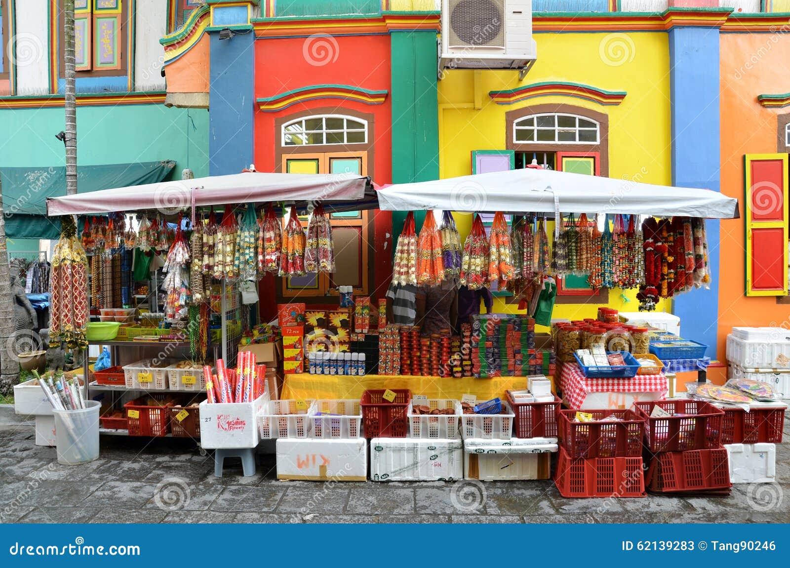 Het kleurrijke huis van tan teng niah in weinig india van singapore redactionele stock foto - Huis van het wereldkantoor newport ...