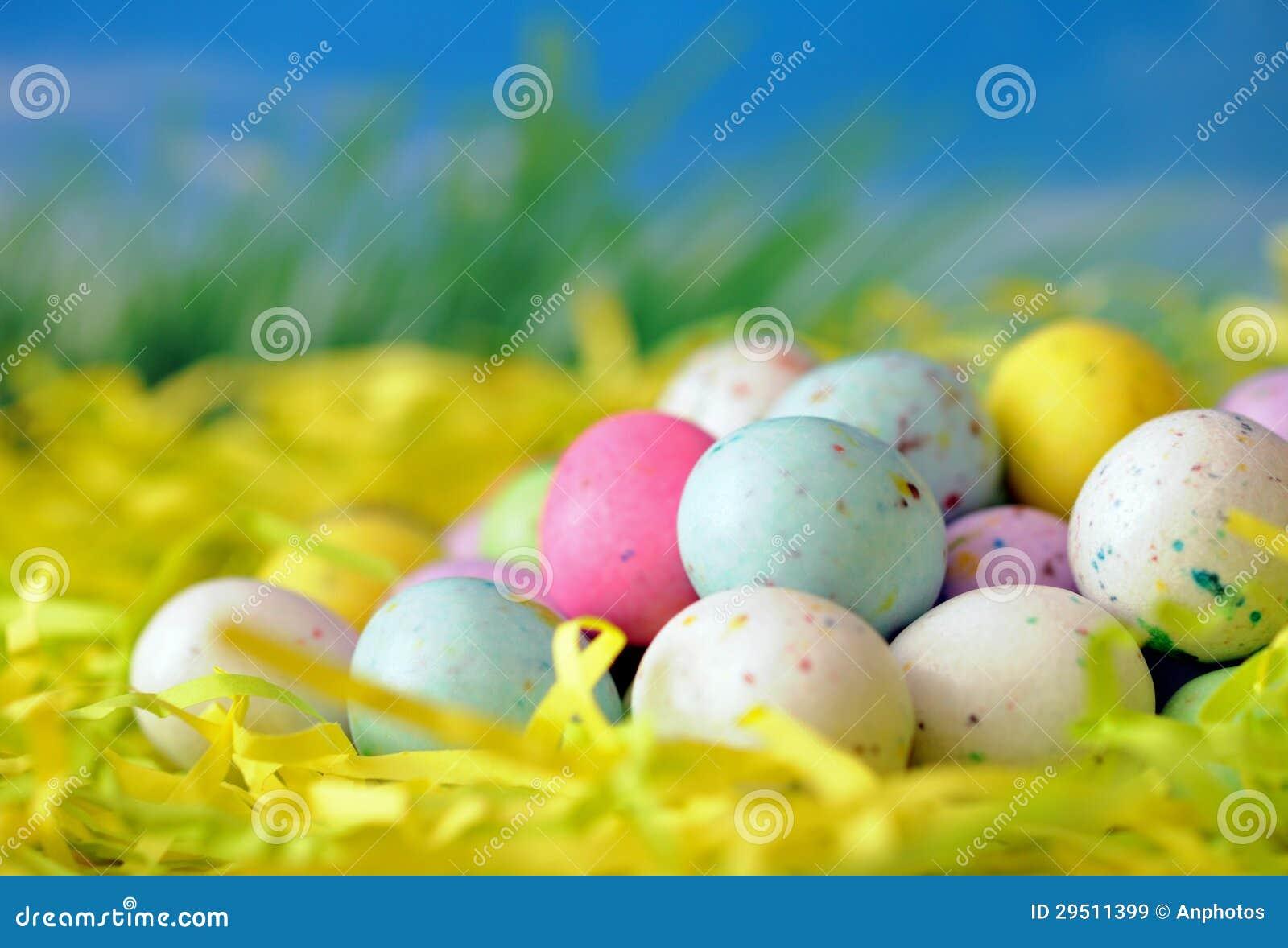 Het kleurrijke suikergoed van Pasen