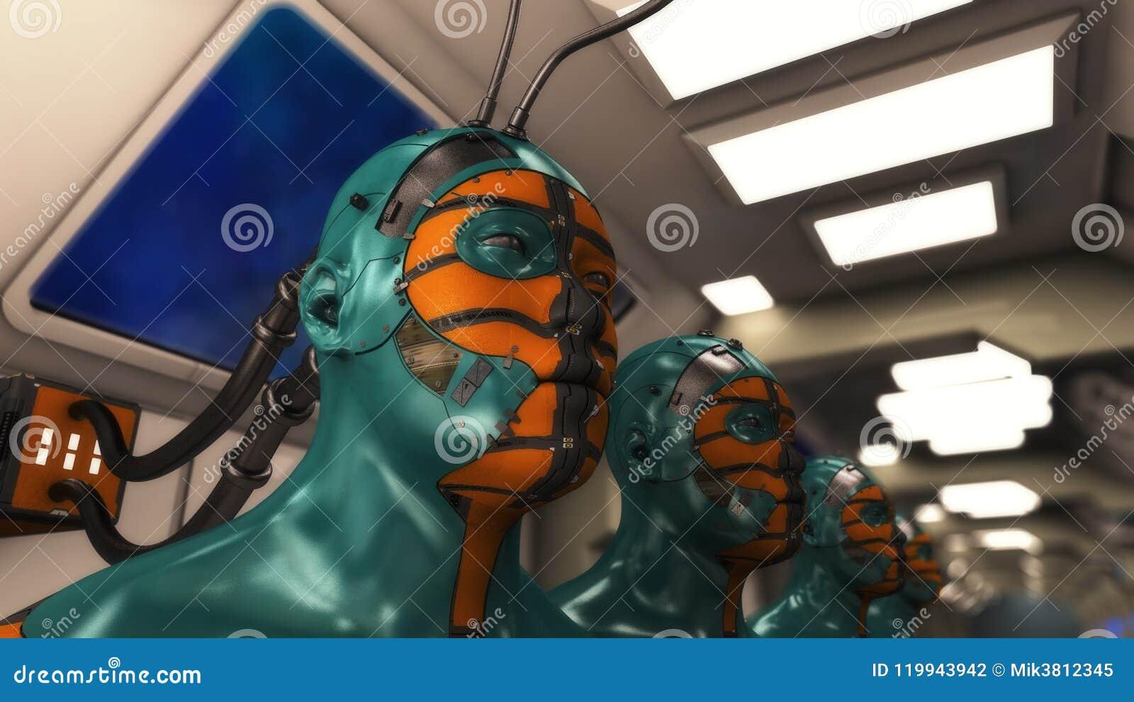 Het klonen humanoidcijfers