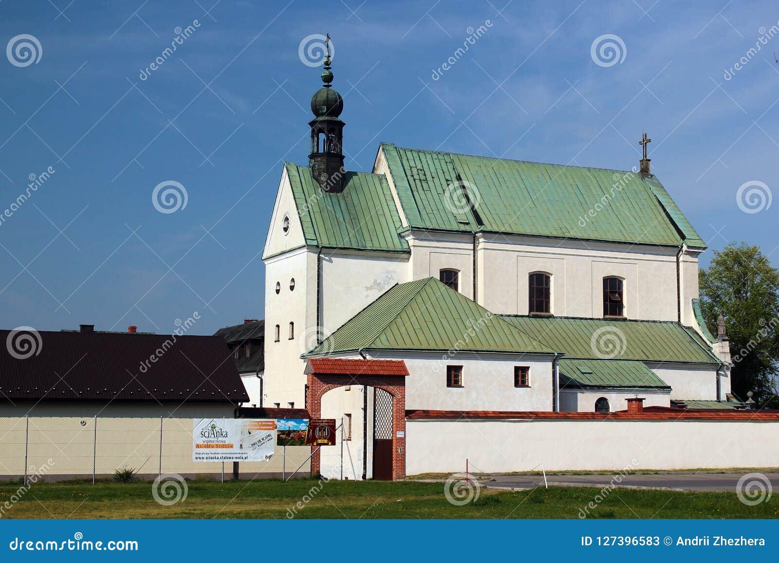 Het klooster in Stalowa Wola, Polen