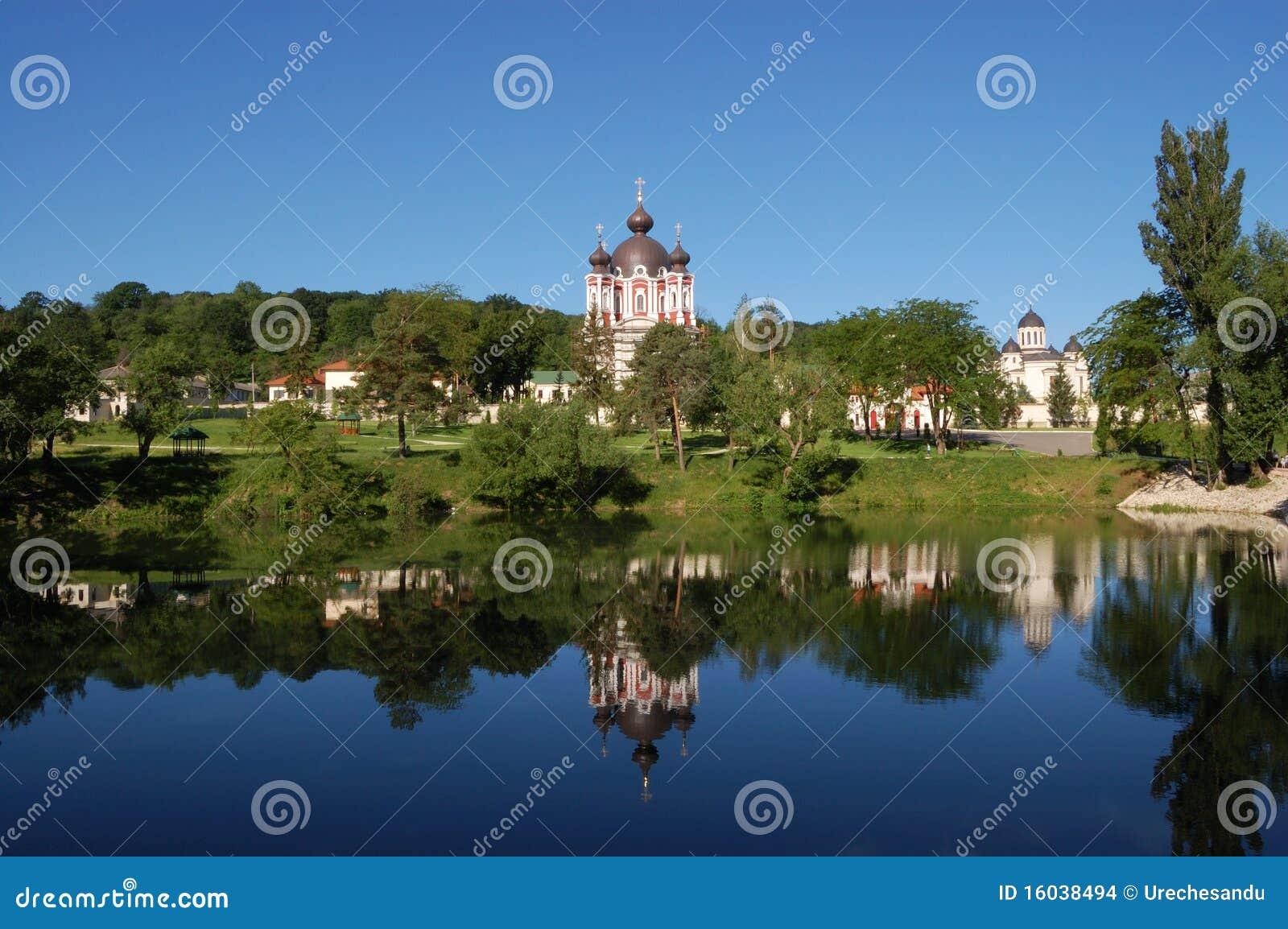 Het klooster van Churchi in Moldova