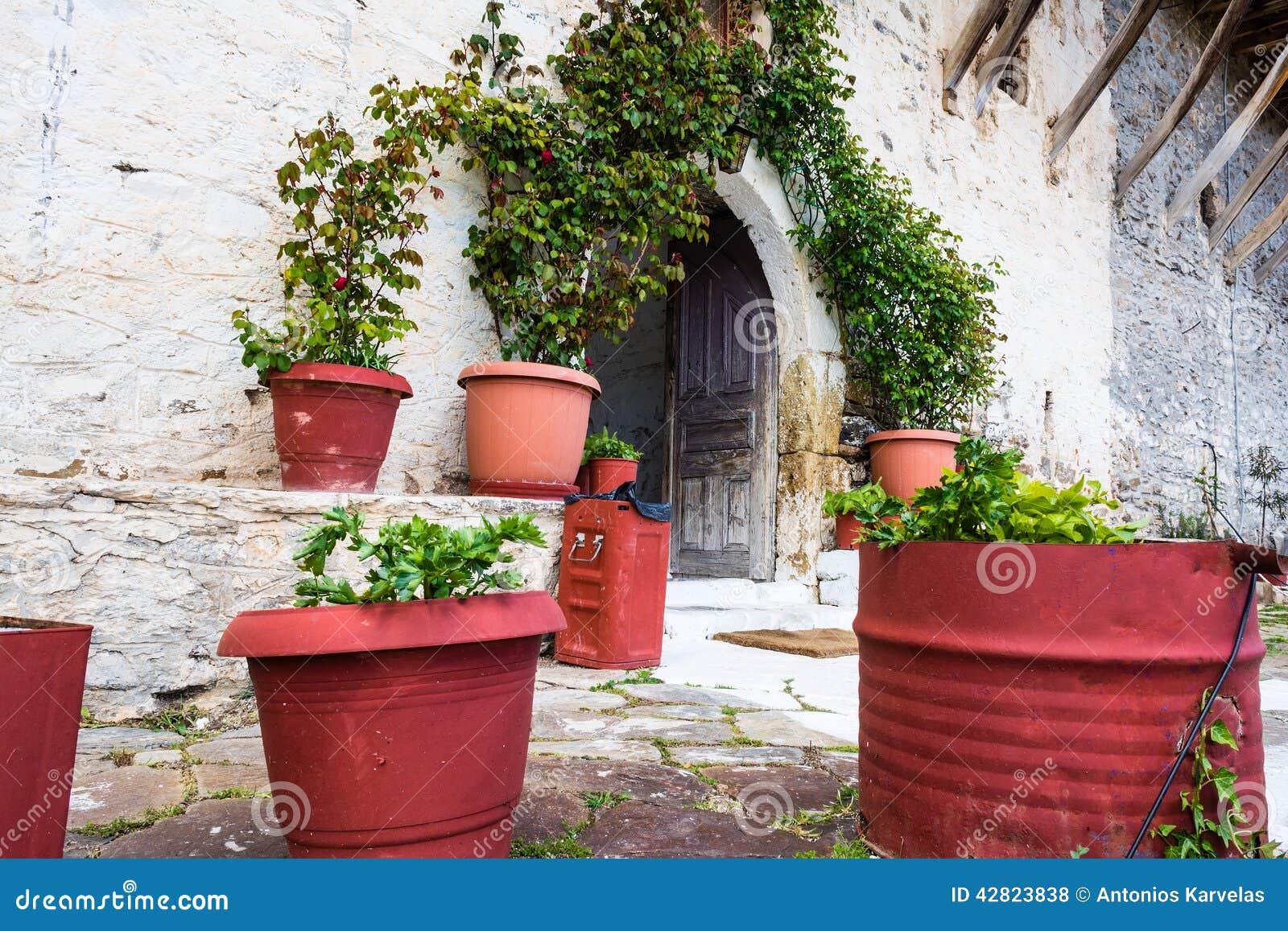 Het klooster van heilige George, Griekenland