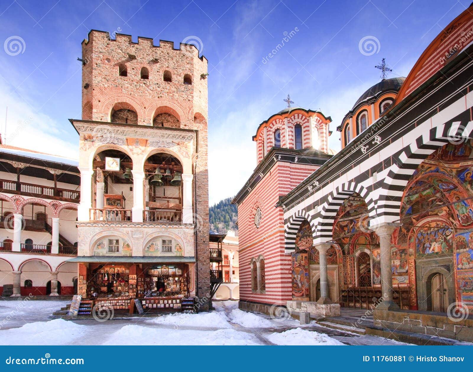 Het klooster van Rila