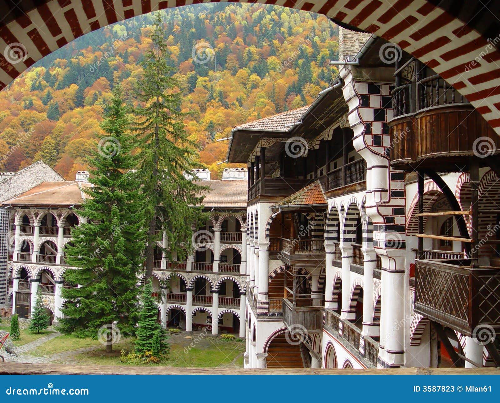 Het klooster van Rila - Bulgarije