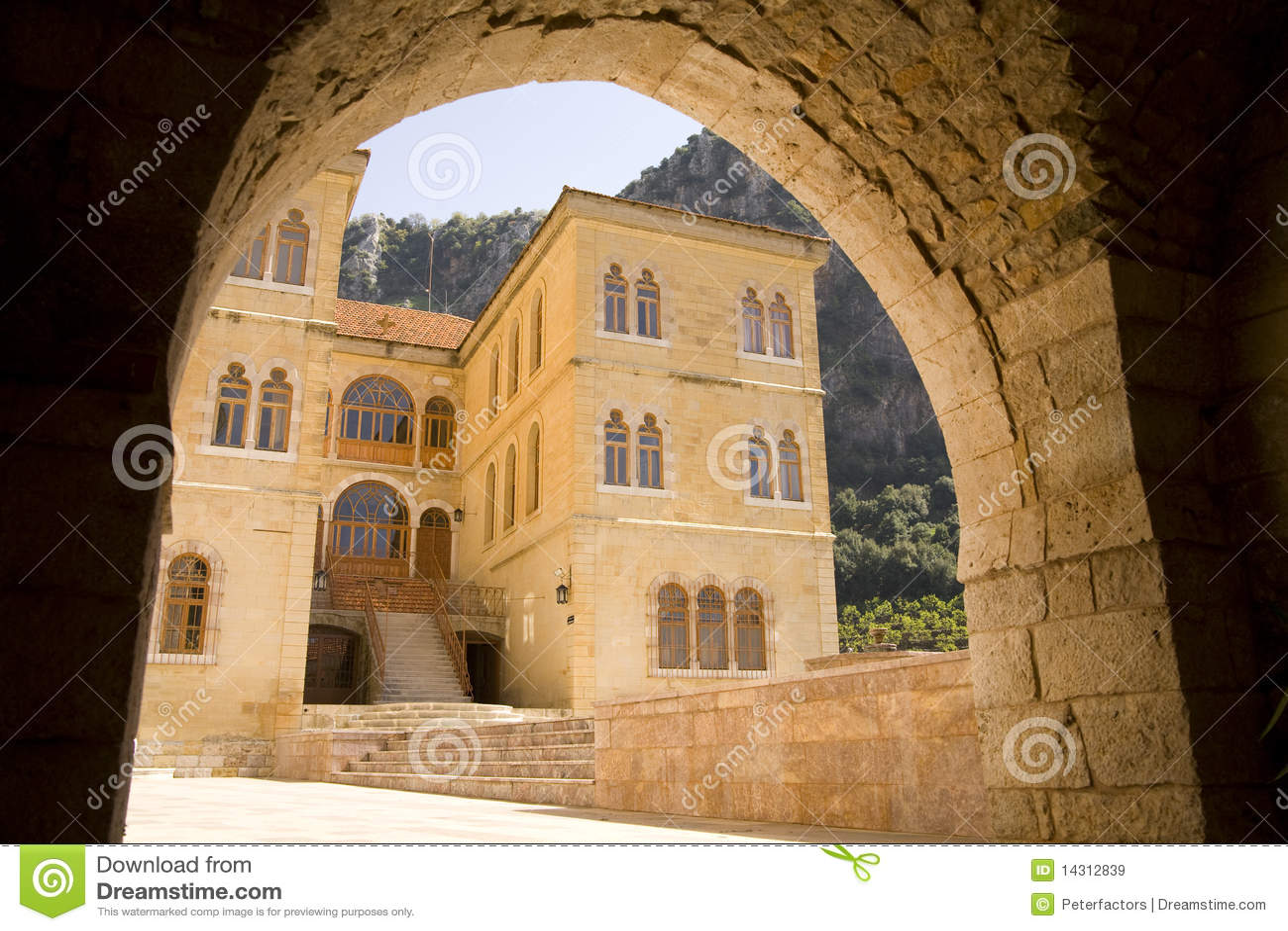 Het klooster van St Anthony van Qozhaya