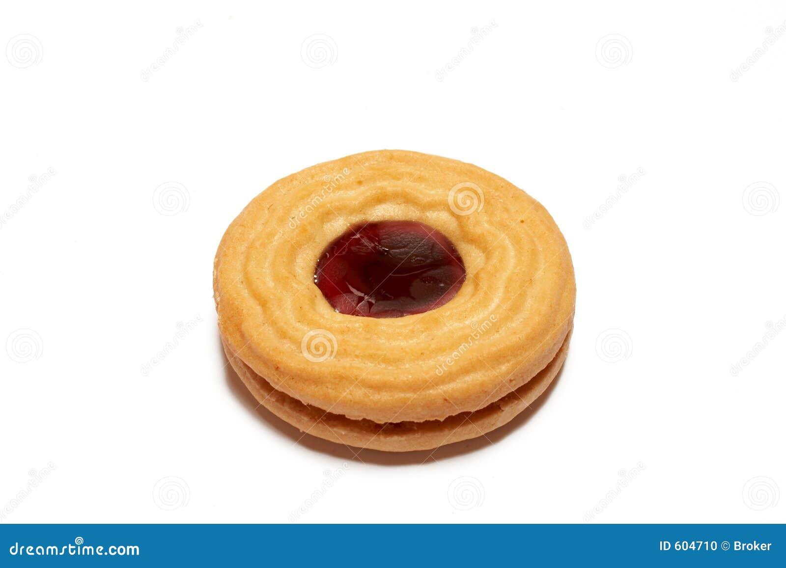Het koekje van de aardbei