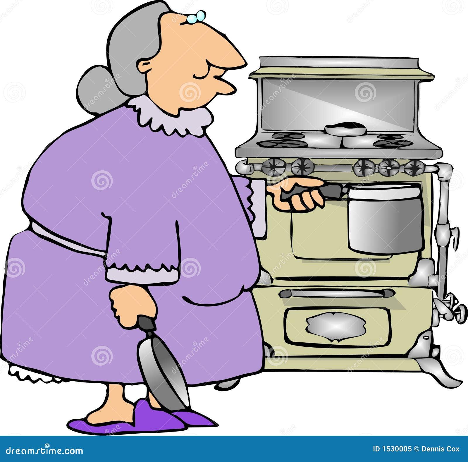 Het koken met Oma