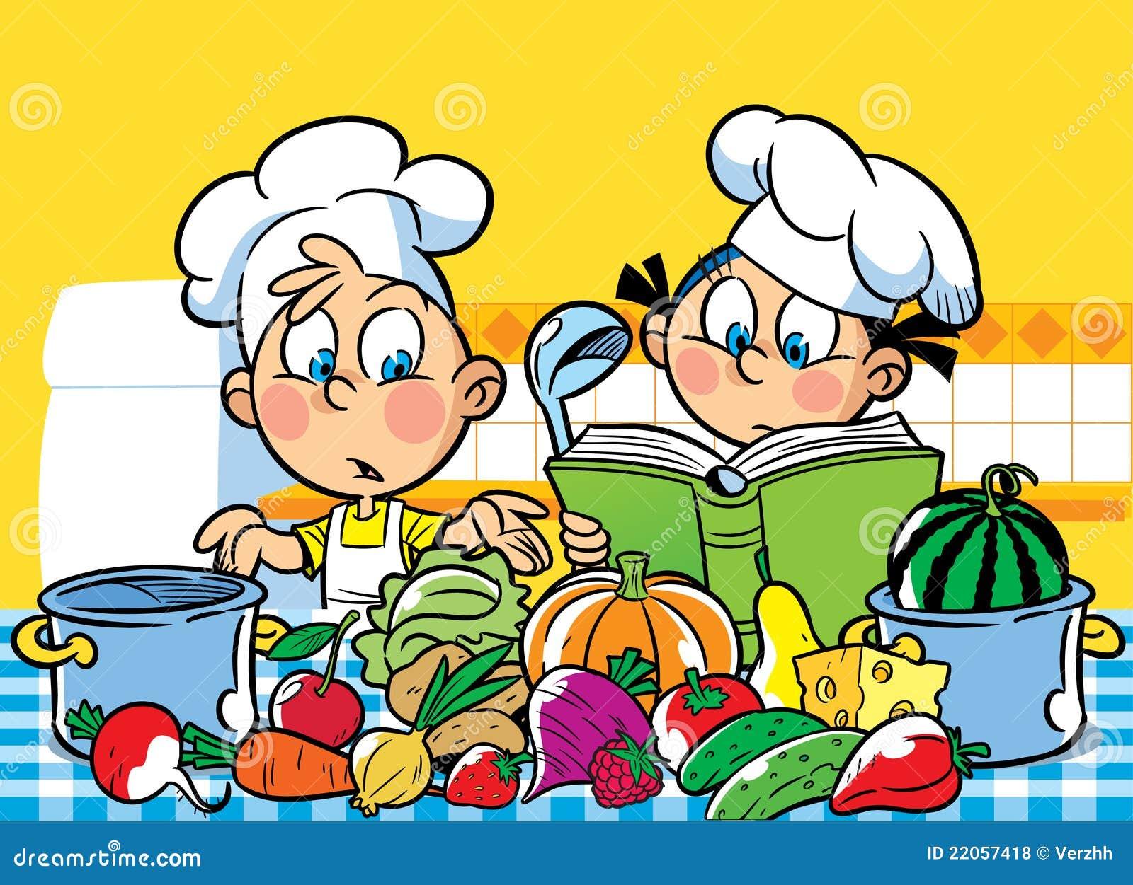 Het koken recepten vector illustratie afbeelding bestaande uit pompoen 22057418 - Koken afbeelding ...