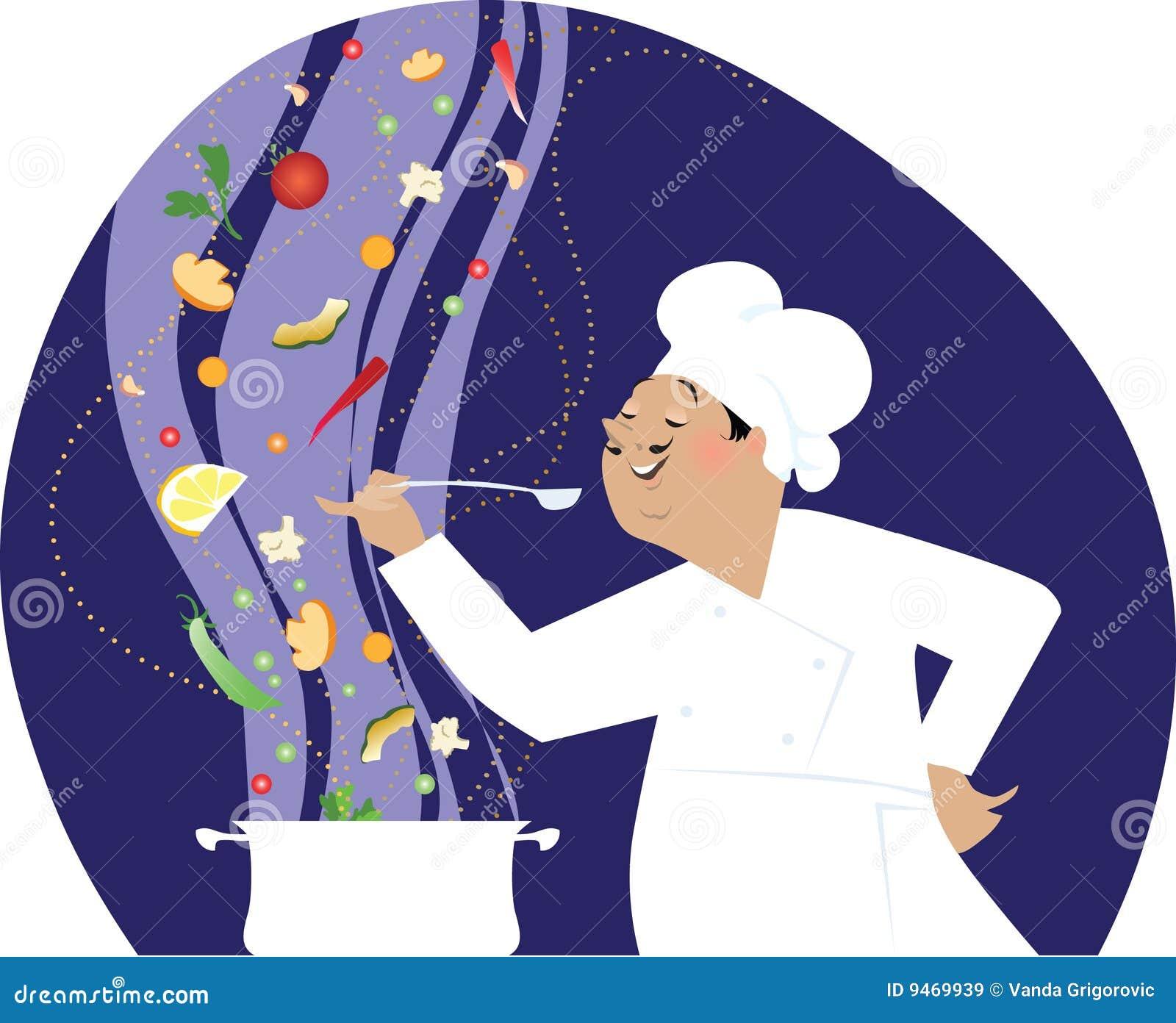Het koken van de chef kok royalty vrije stock afbeeldingen afbeelding 9469939 - Koken afbeelding ...