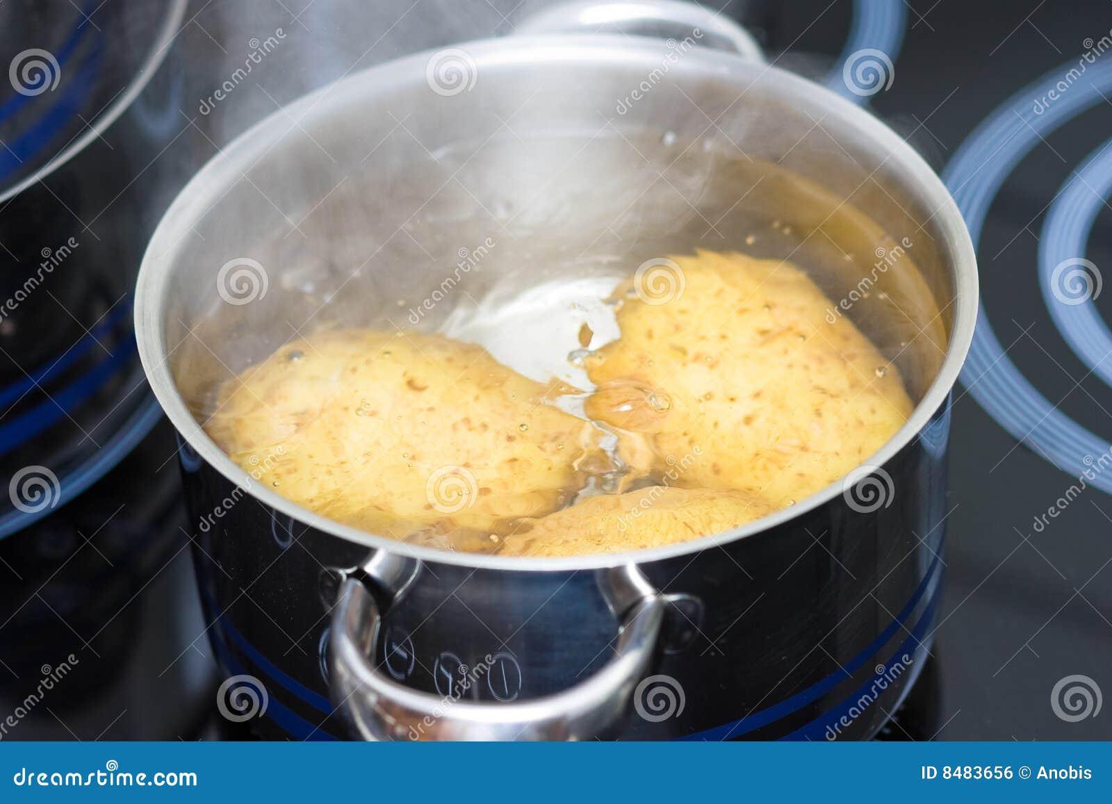 Het koken in water royalty vrije stock afbeelding beeld 8483656 - Koken afbeelding ...