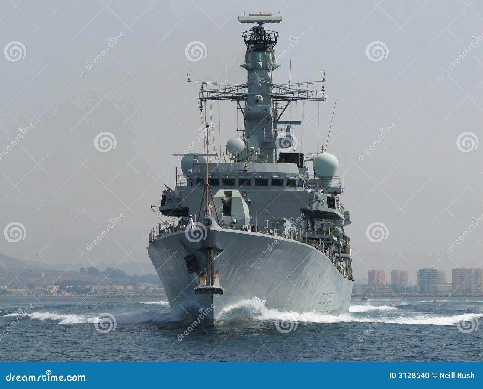 Het koninklijke Fregat van de Marine