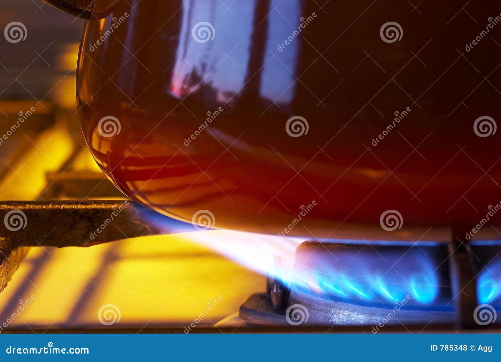Het kooktoestel van het gas