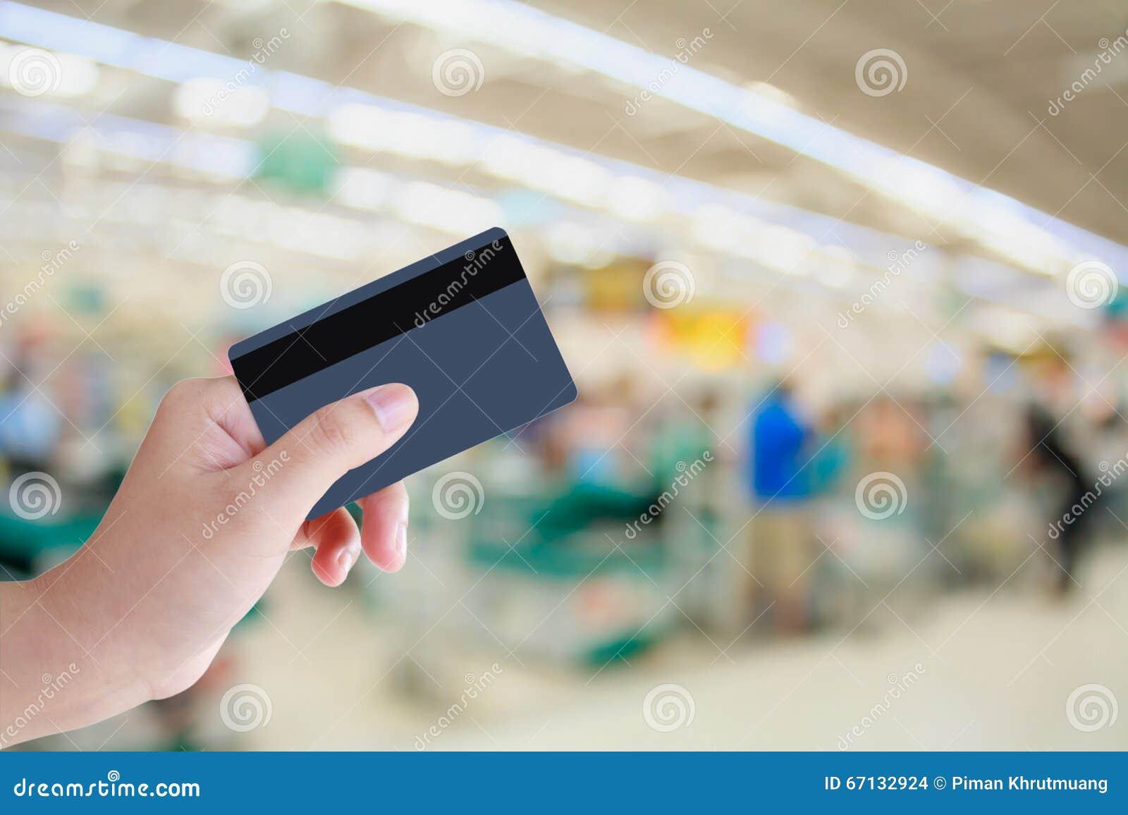 Het kopen met Creditcard