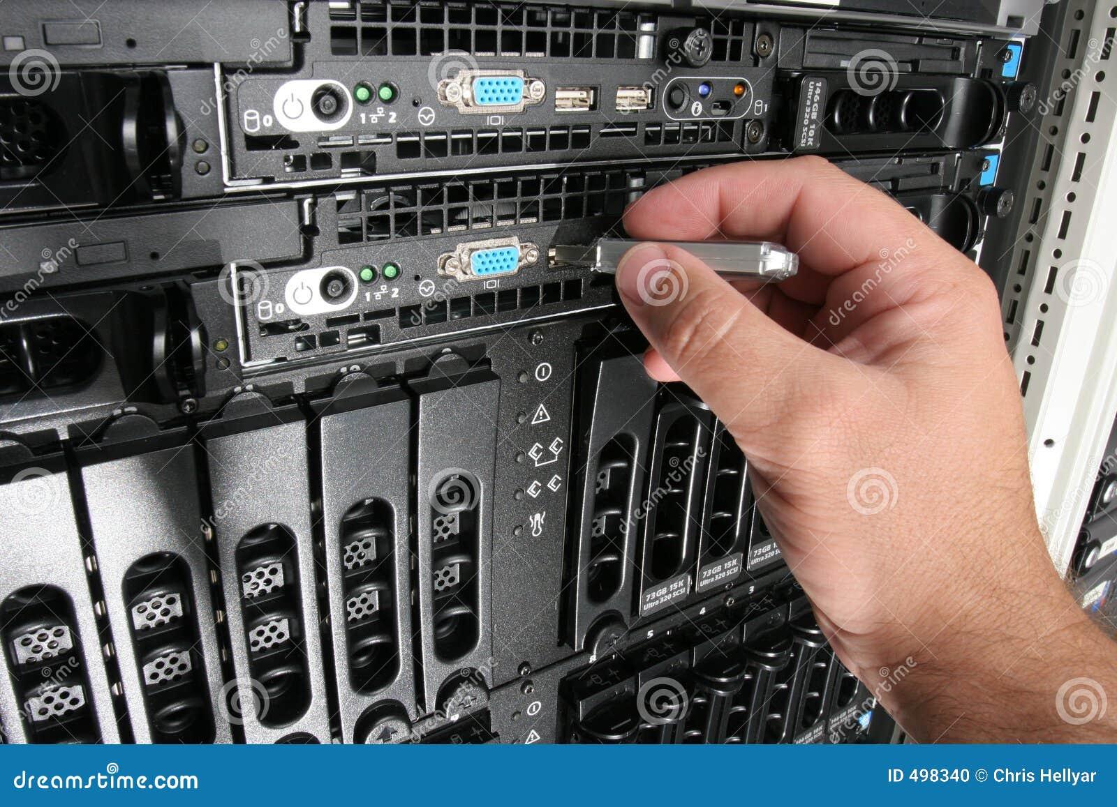 Het kopiëren Gegevens van de server