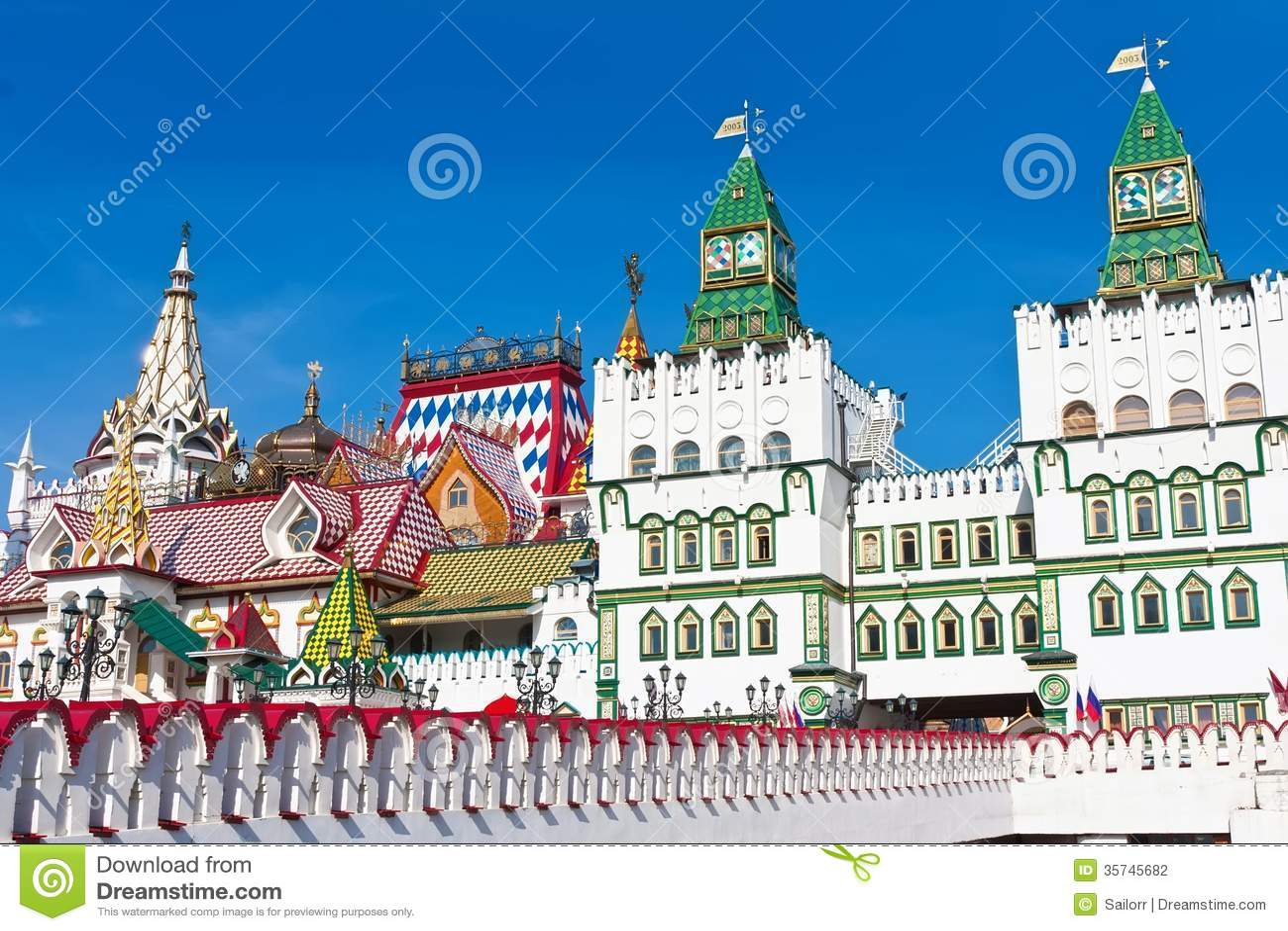 Het Kremlin in Izmailovo
