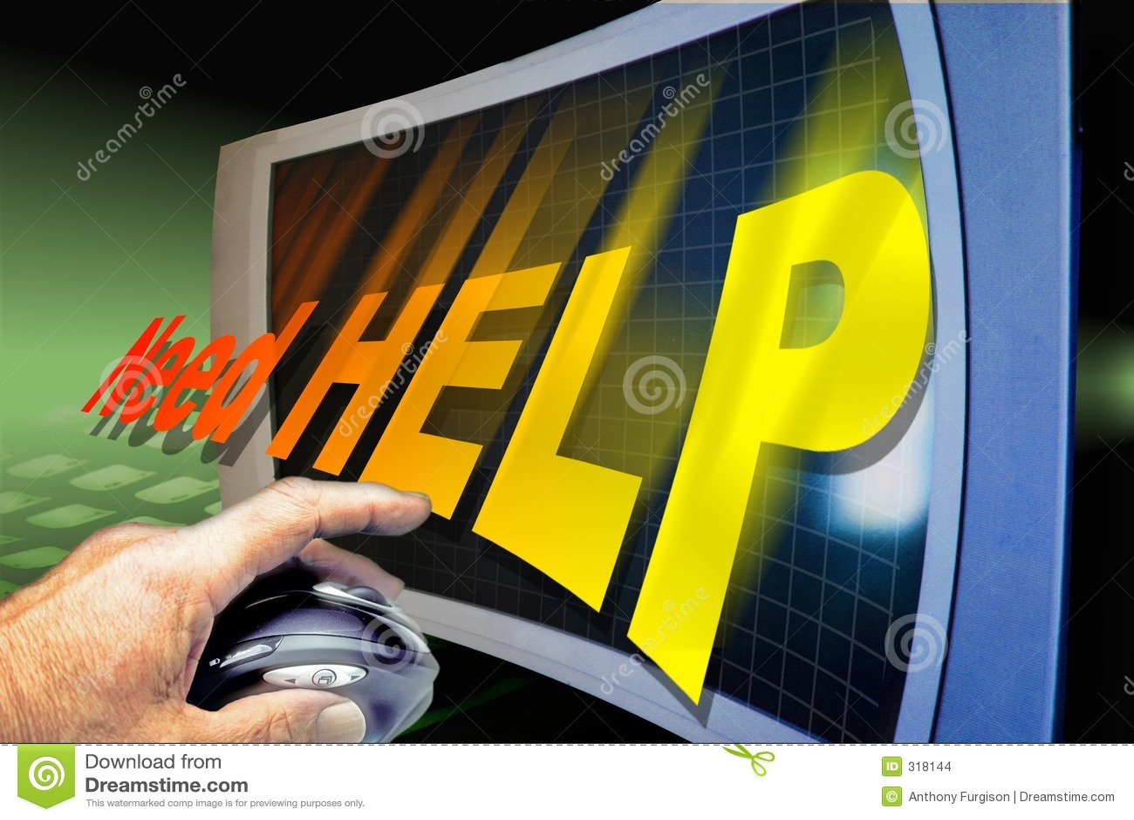 Het krijgen van hulp