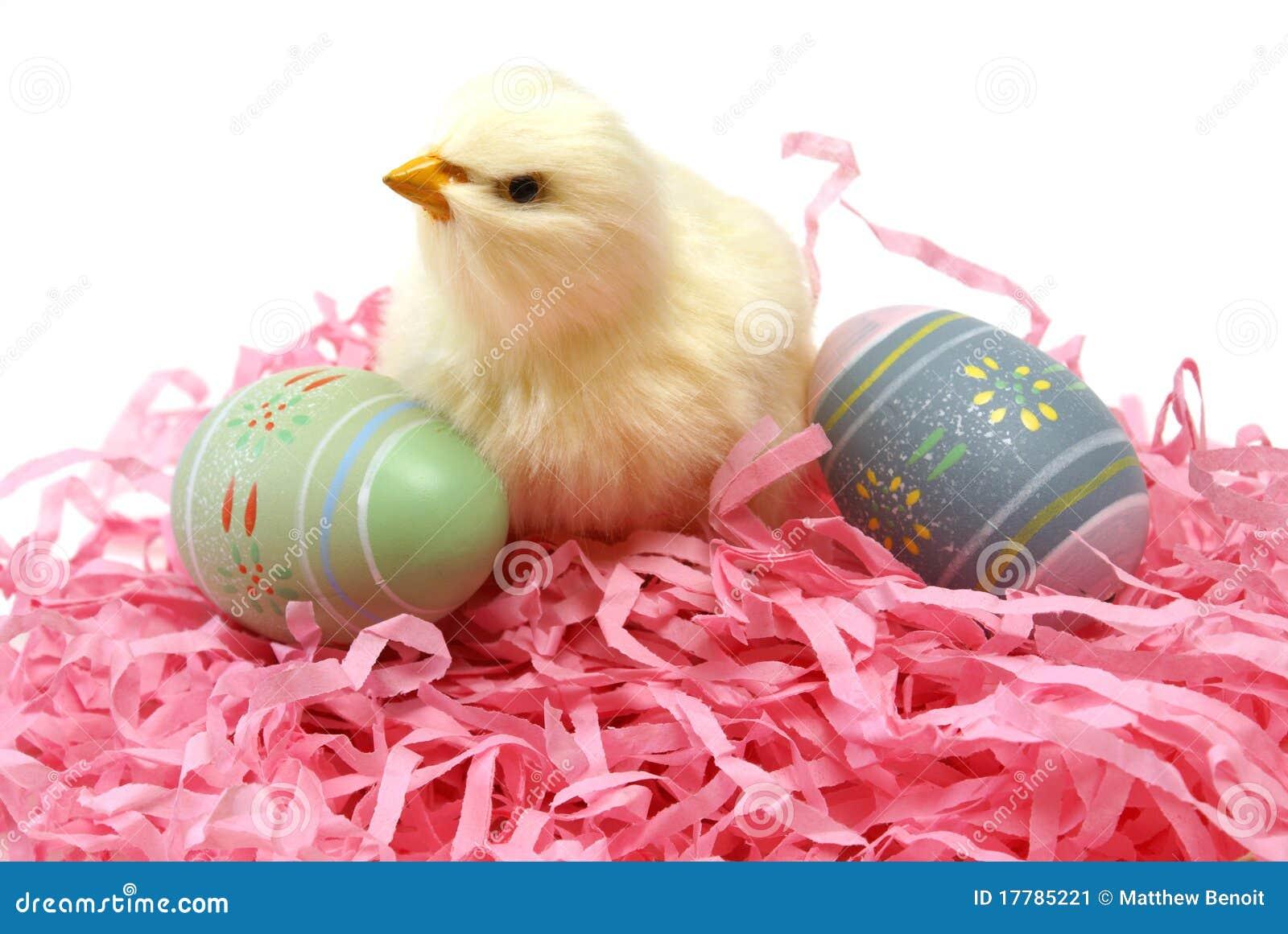 Het Kuiken en de Eieren van Pasen