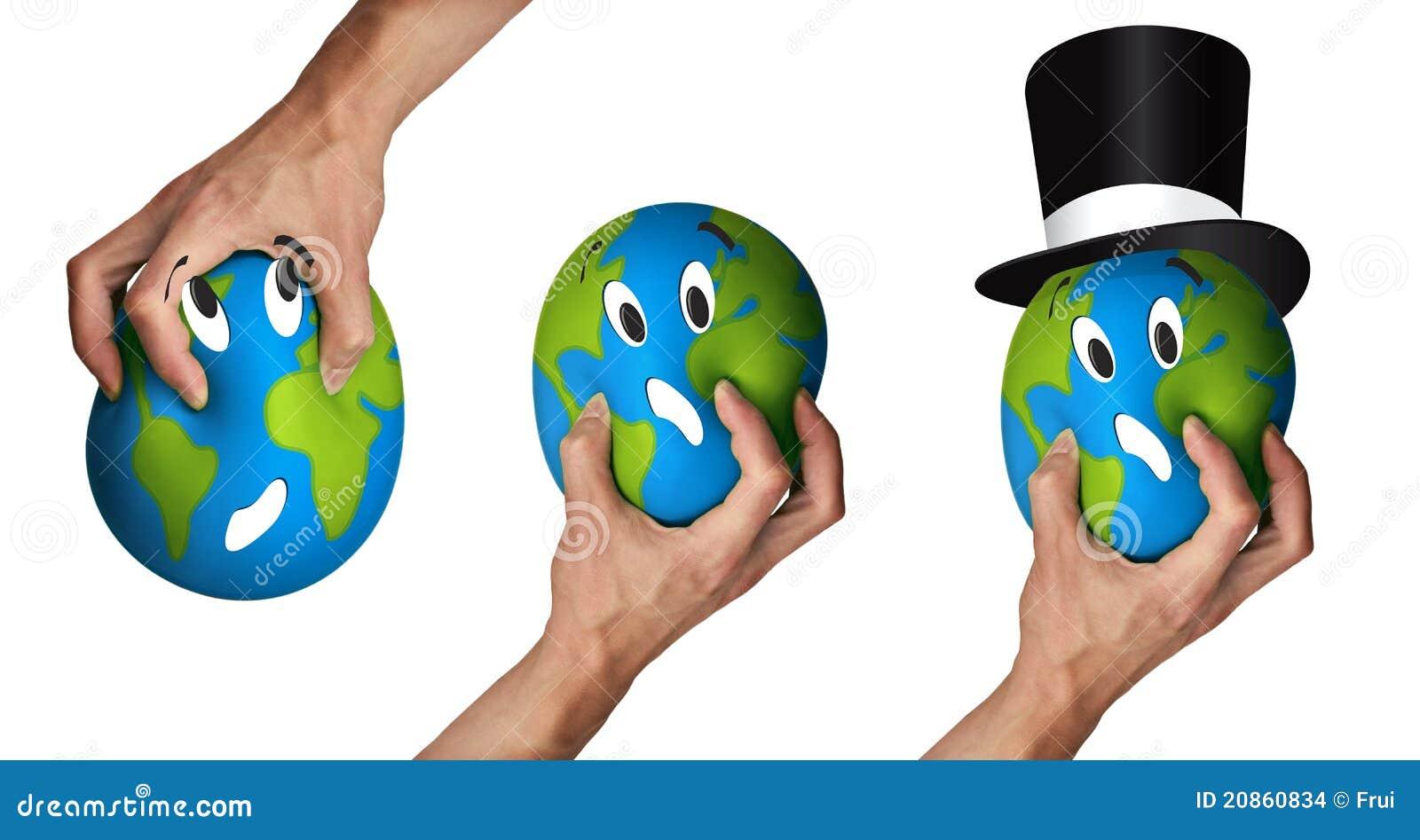 Het kwetsen van aarde