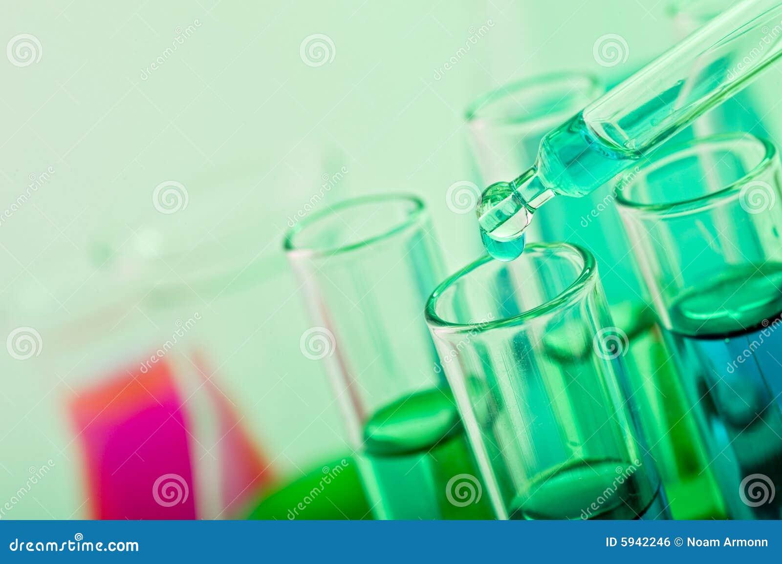 Het laboratorium van de wetenschap