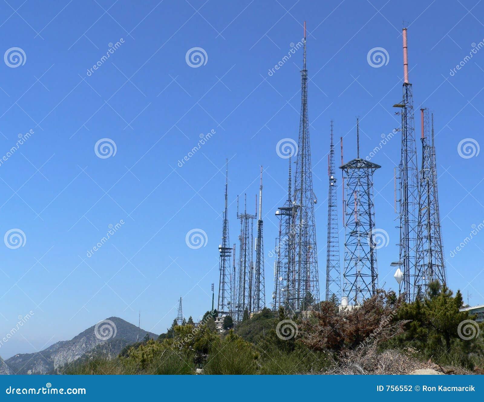 Het Landbouwbedrijf van de antenne