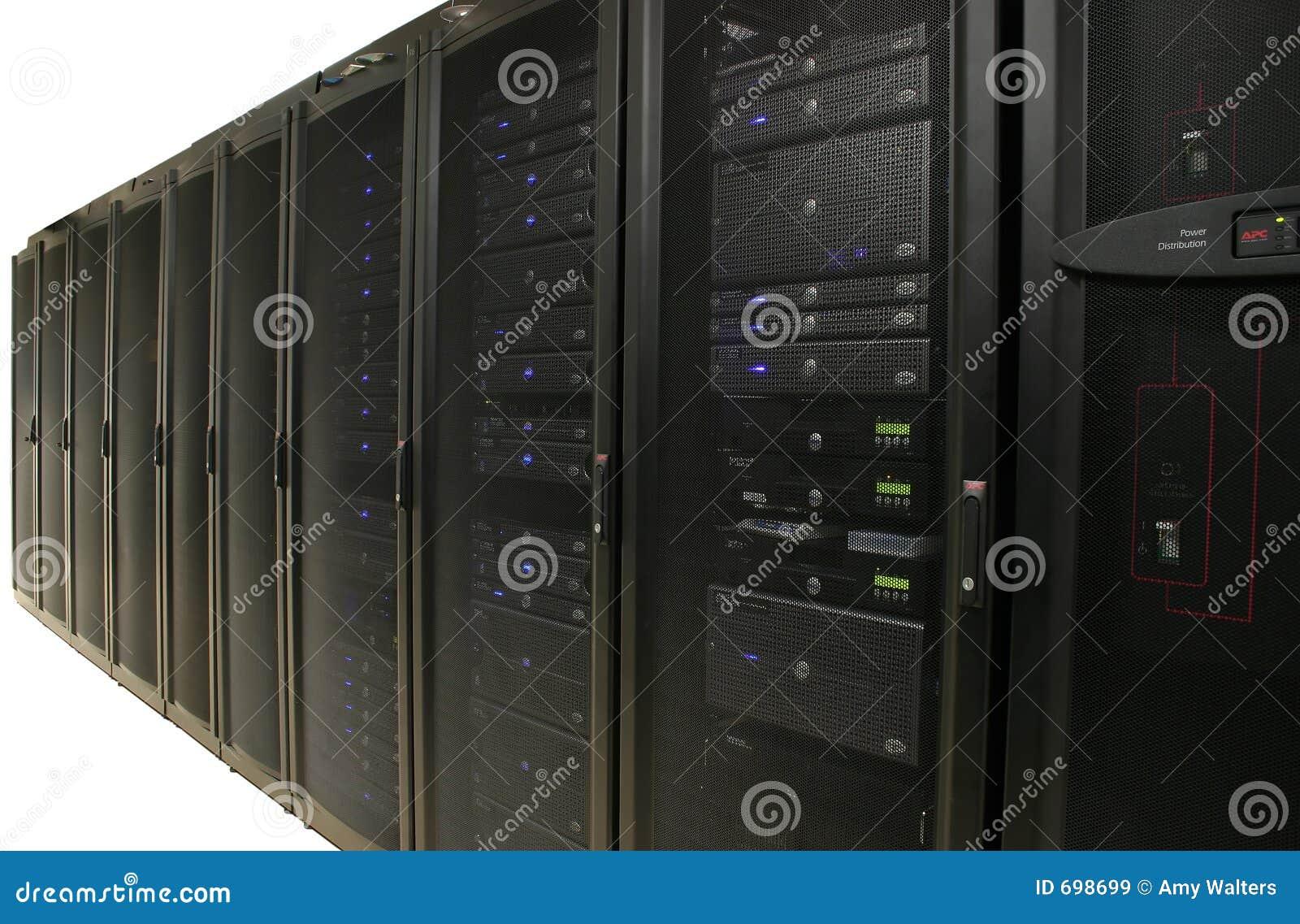 Het Landbouwbedrijf van de server: Het Geïsoleerdet Centrum van gegevens -