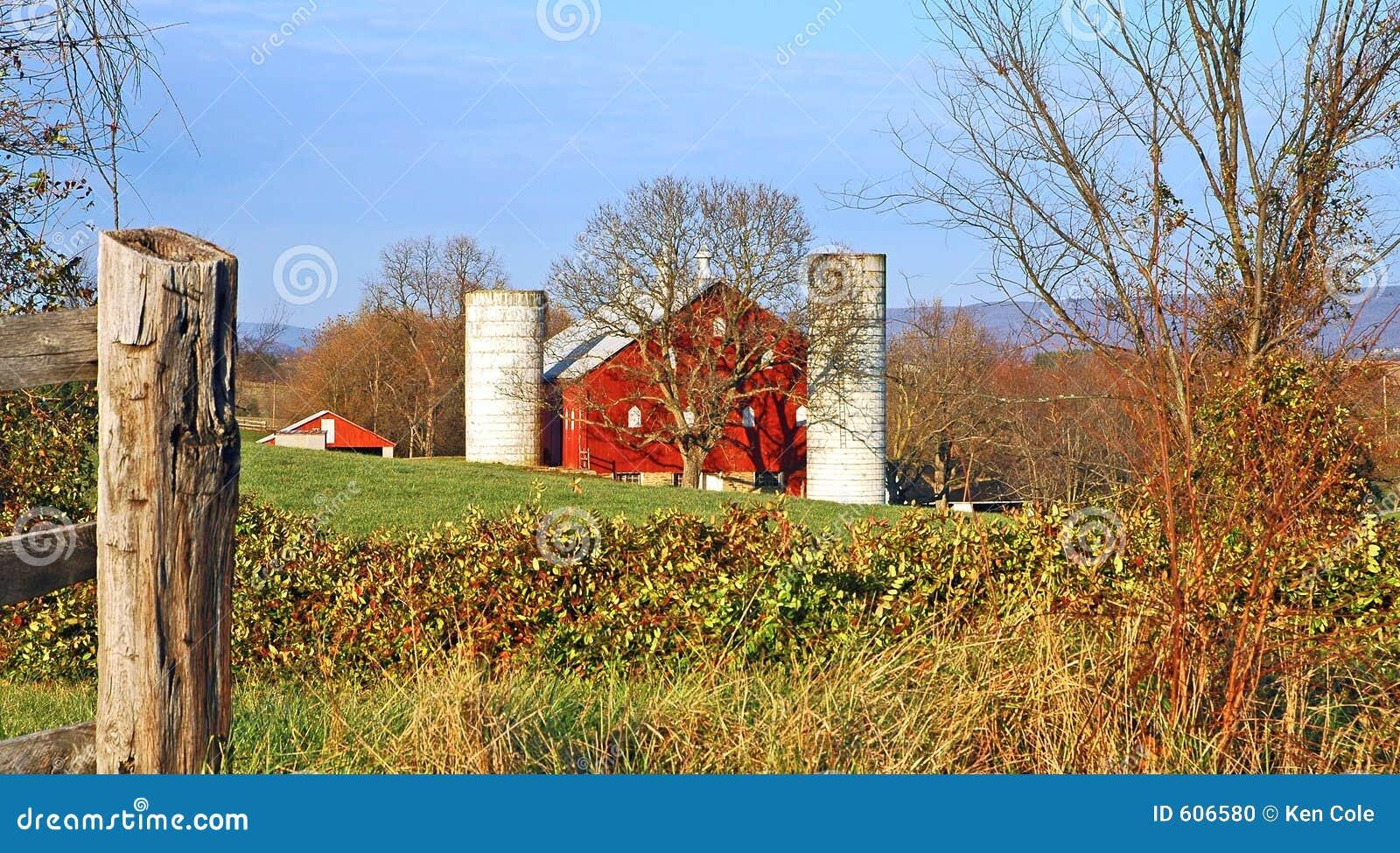 Het Landbouwbedrijf van het land