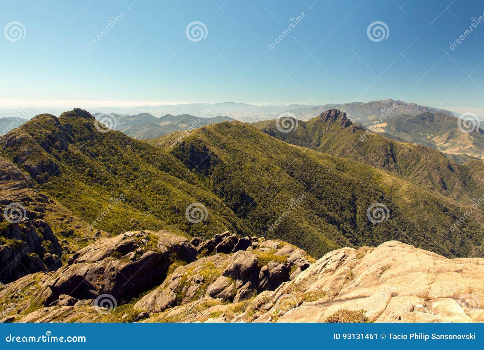 Het landschap van de berg