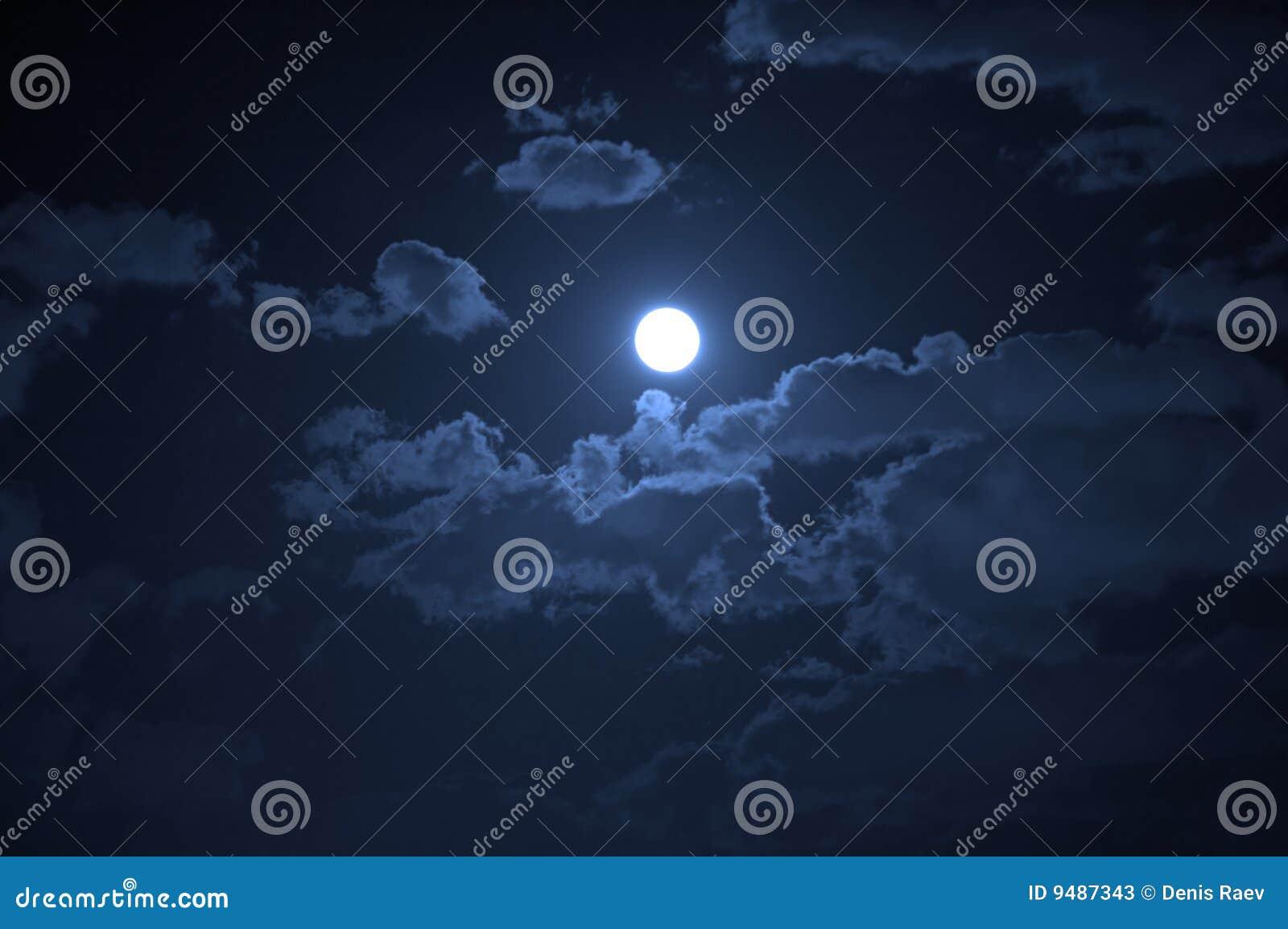 Het landschap van de nacht