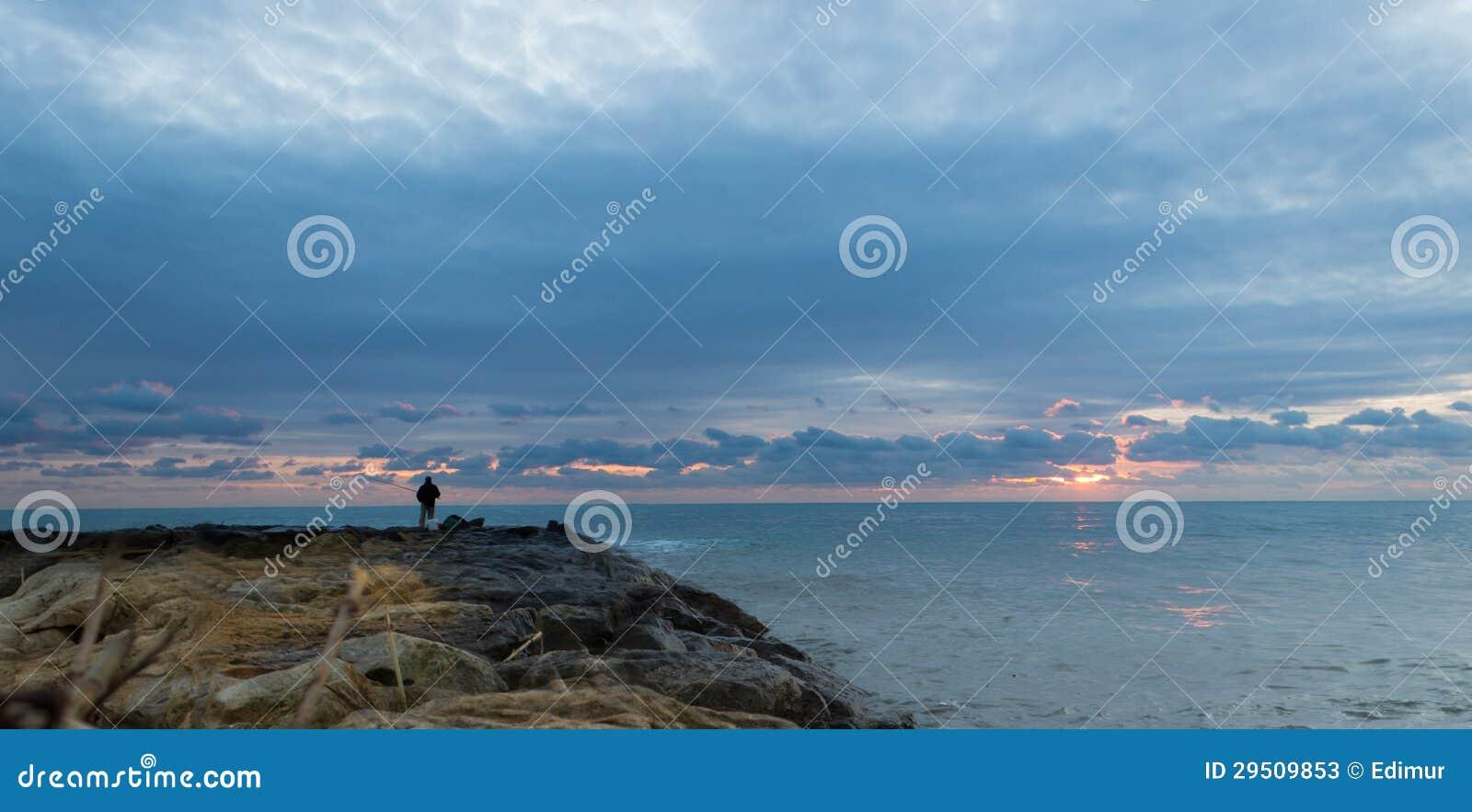 Het landschap van de visser