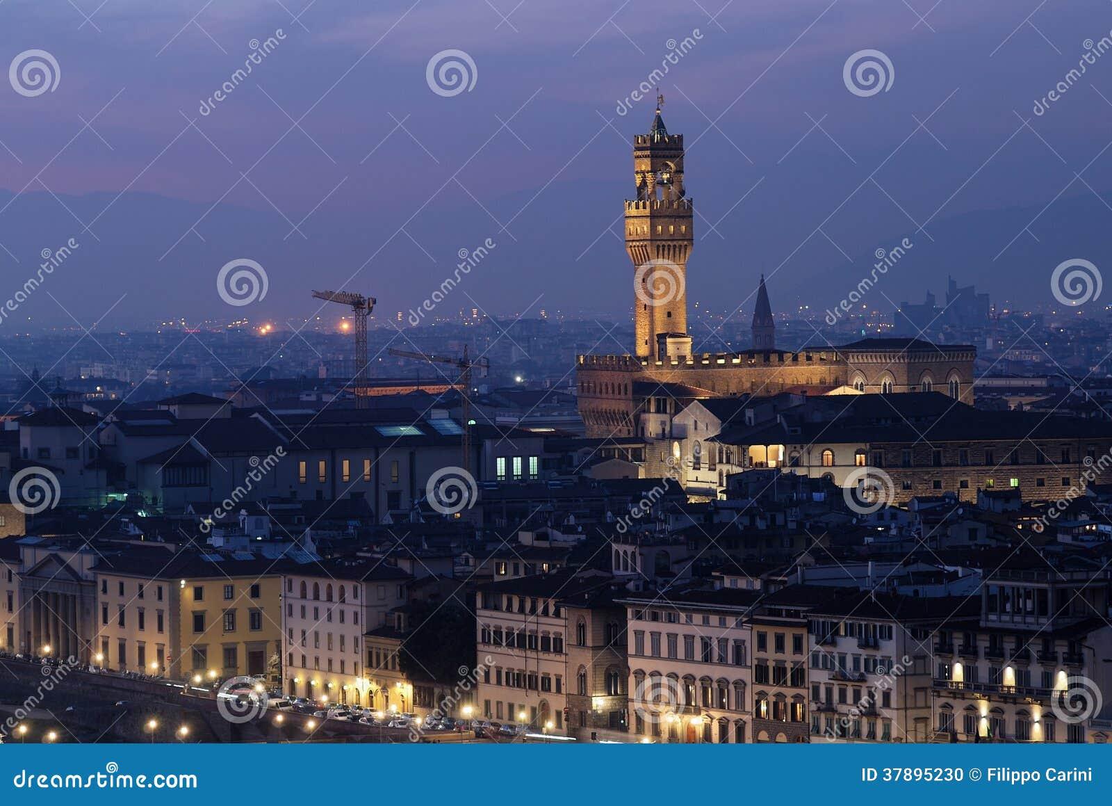 Het landschap van Florence