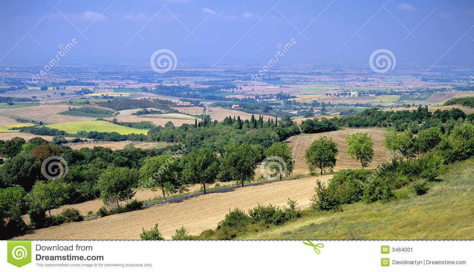 Het landschap van Languedoc