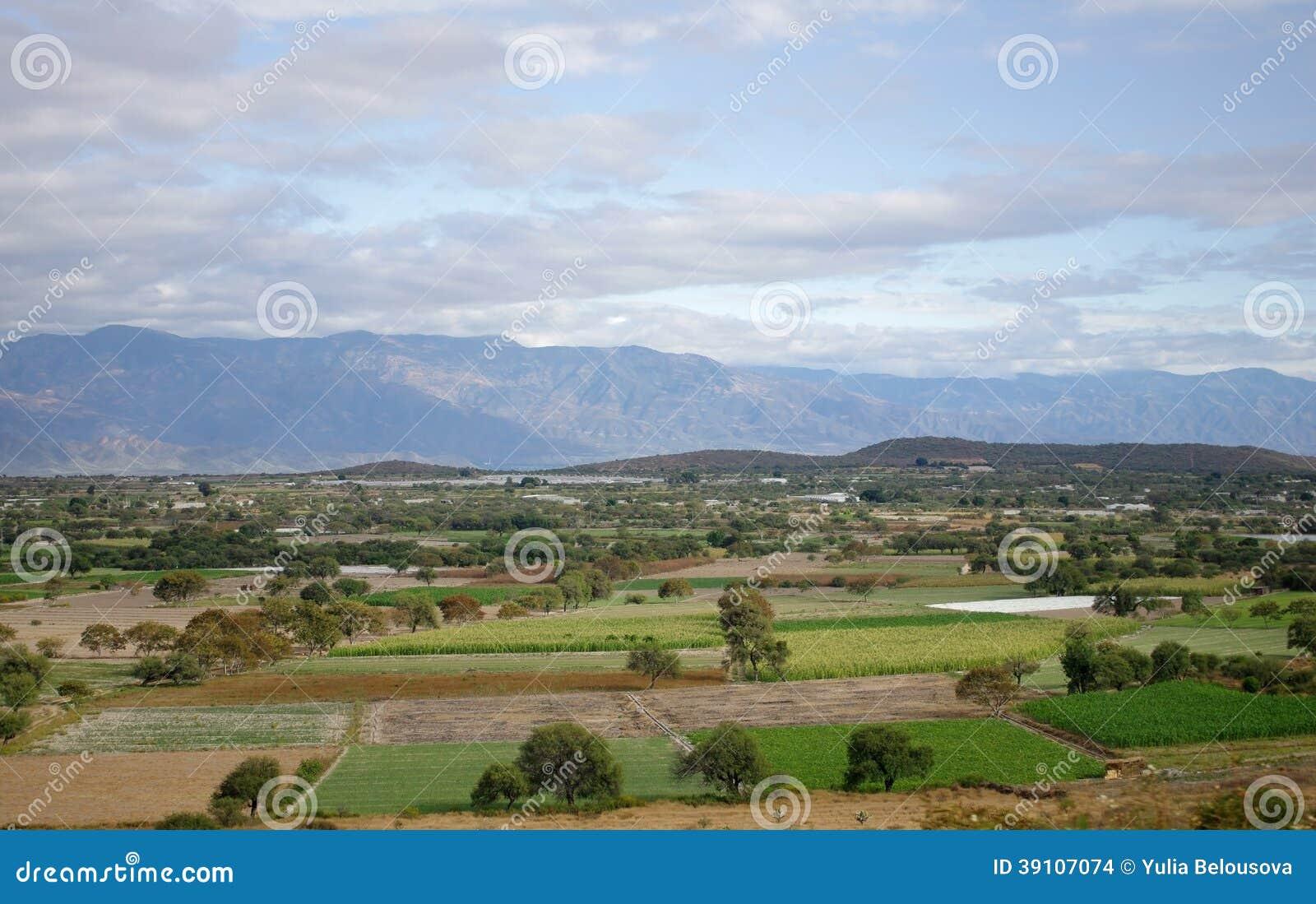 Het landschap van Mexico