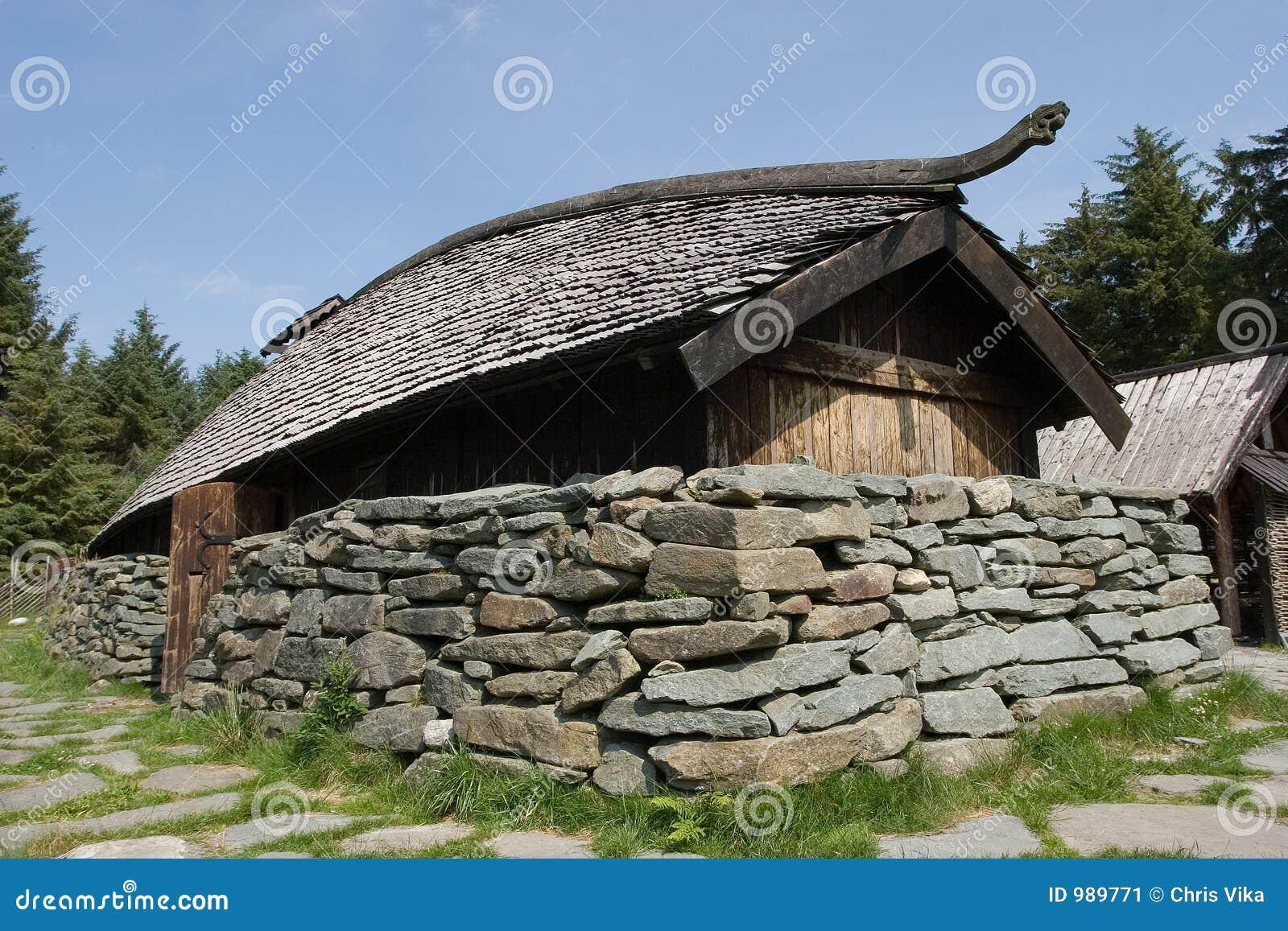 Het lange huis van viking stock afbeelding afbeelding bestaande uit olie 989771 - Huis van het wereldkantoor newport ...
