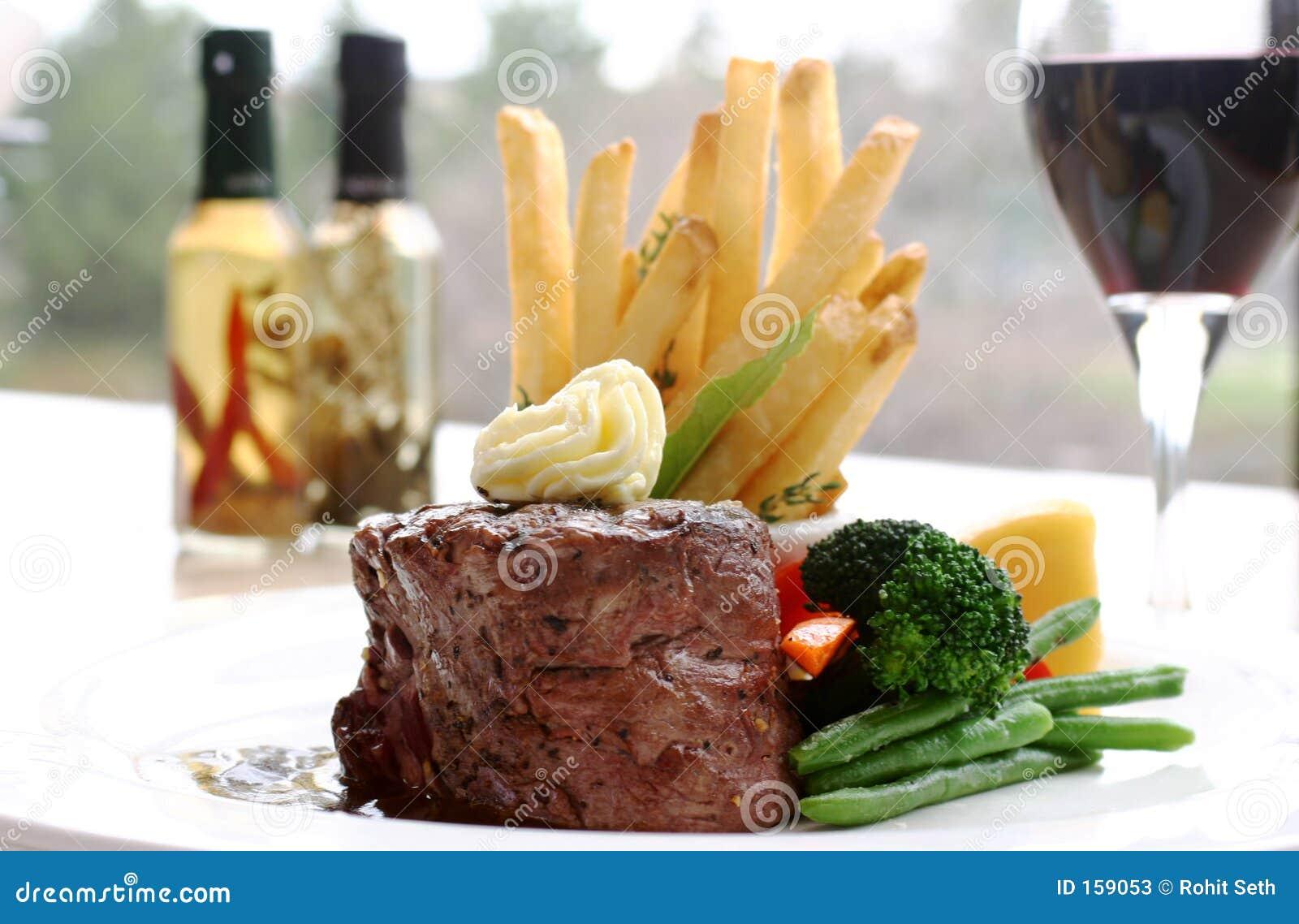 Het Lapje vlees van het haasbiefstuk